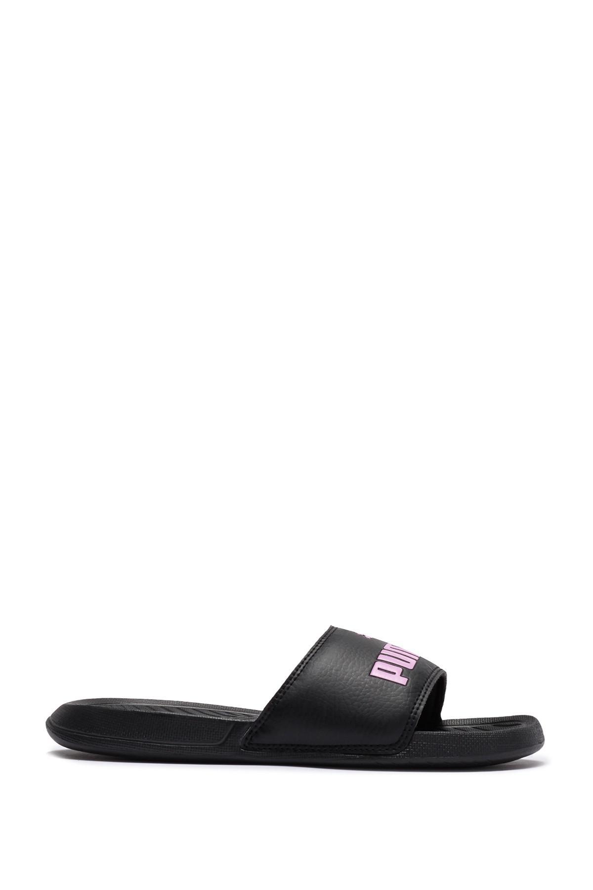 bf2376de54271 Lyst - PUMA Popcat Jr. Slide Sandal in Black for Men