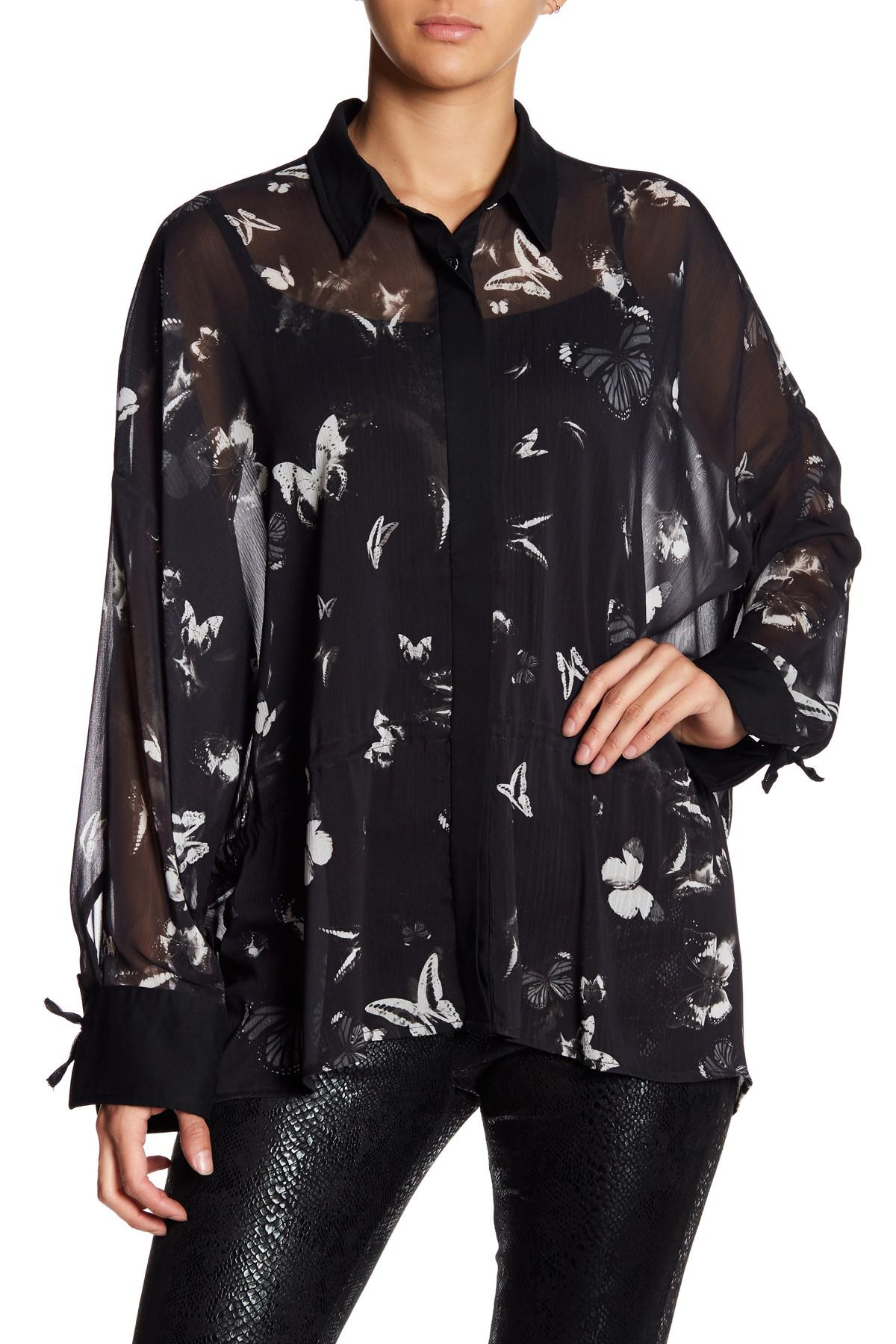 f3a64711614d Lyst - Religion Serene Shirt in Black