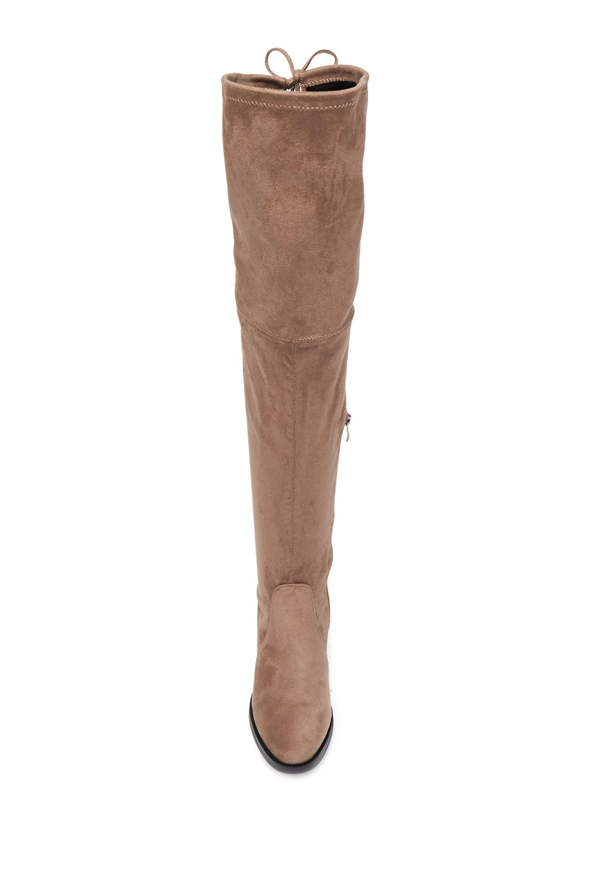 e5f816320e6 Lyst - Catherine Malandrino Perse Embellished Over-the-knee Boot in ...