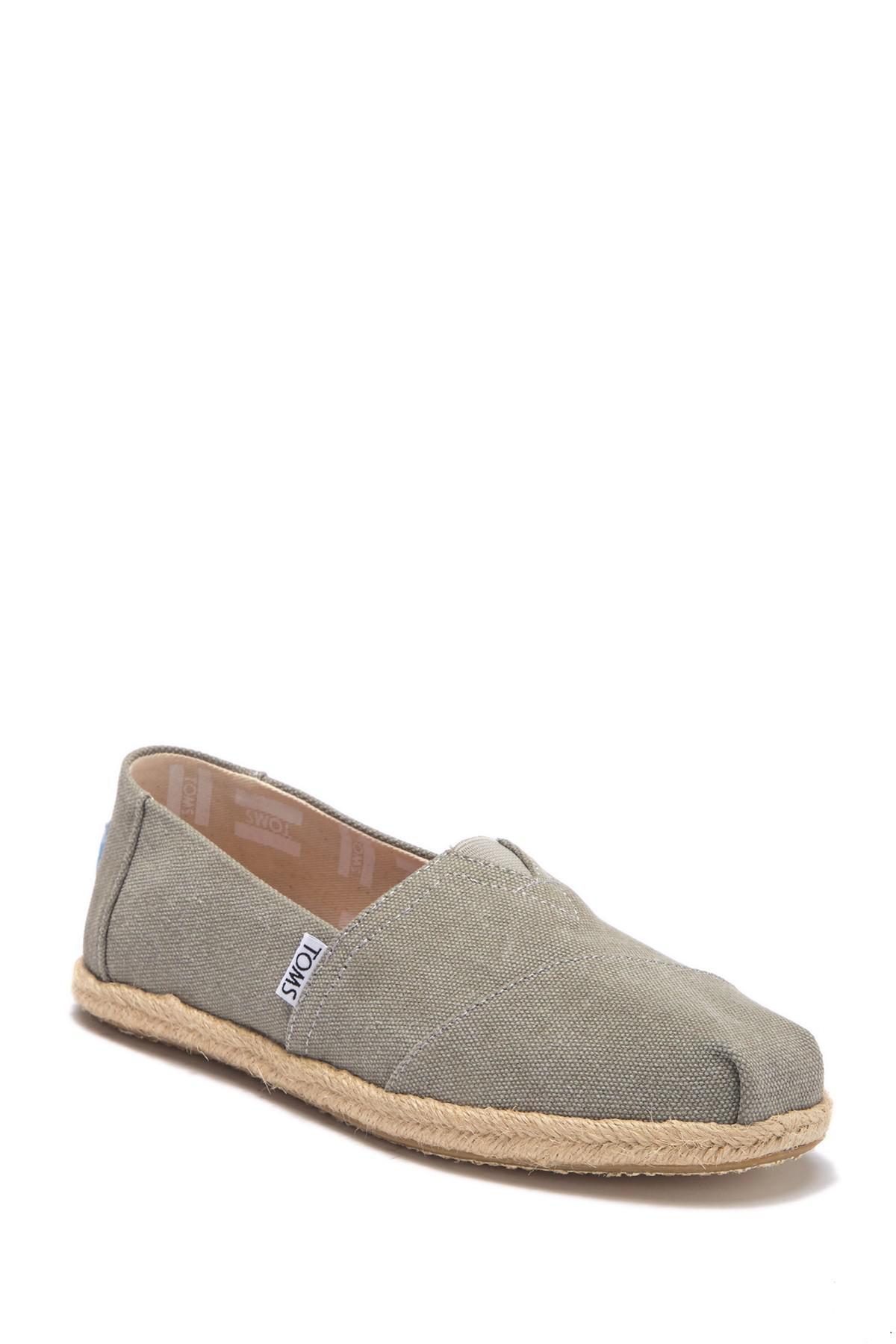766df7a9158 TOMS - Gray Alpargata Slip-on - Lyst. View fullscreen