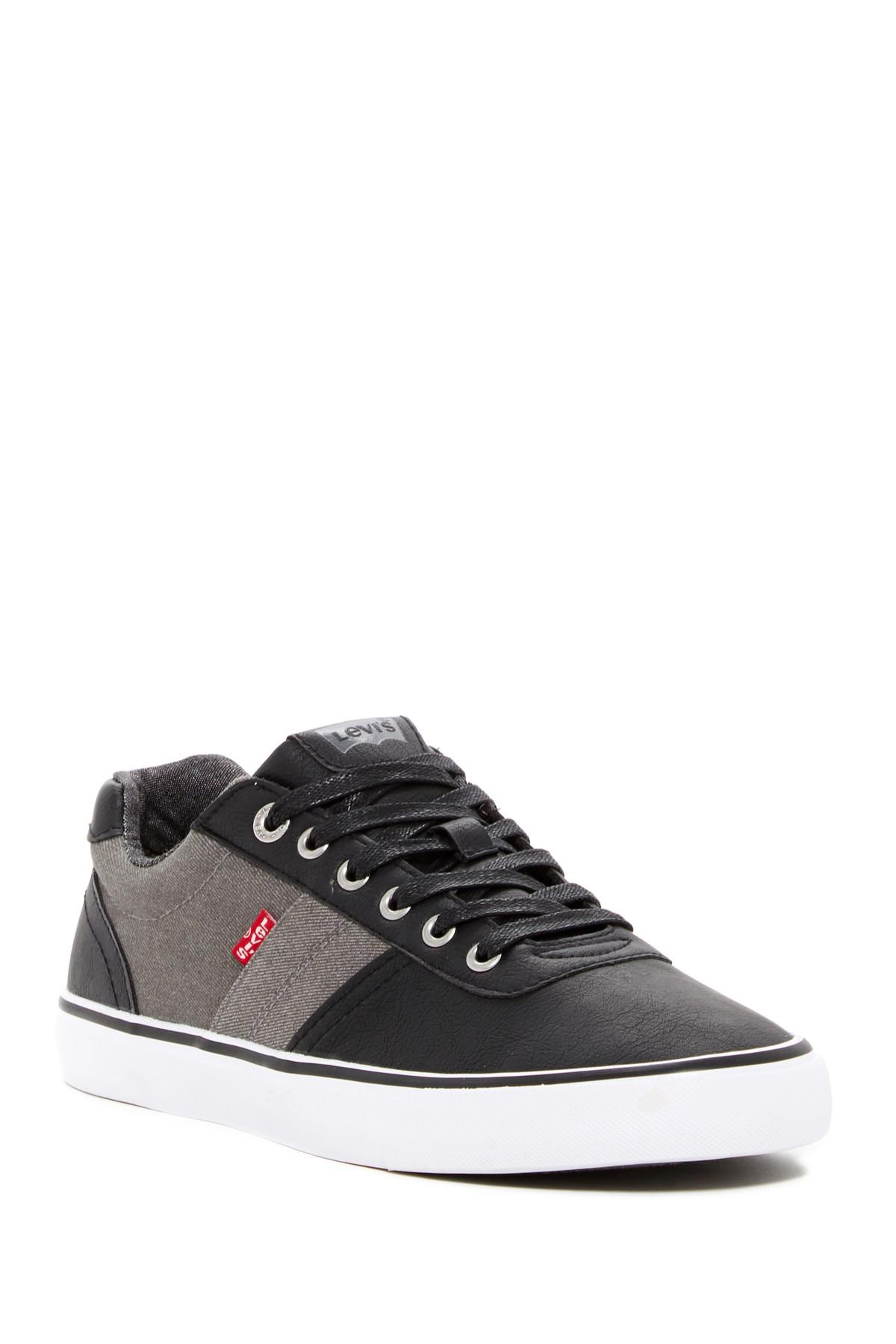 a6cddb3c070a2 Lyst - Levi s Miles Cacti Denim Sneaker in Black for Men