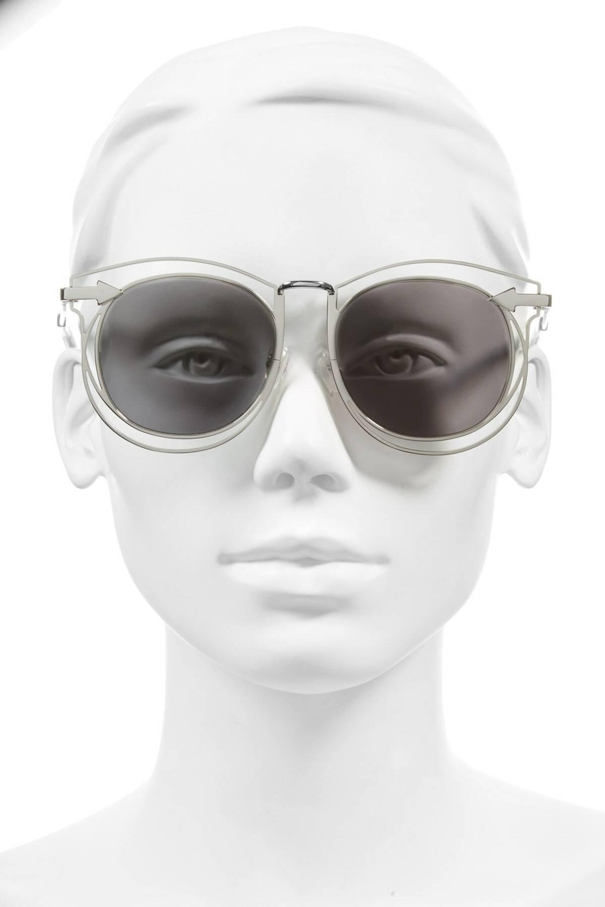 11b13a35e5a0 Karen Walker - Metallic  simone  54mm Retro Sunglasses - Lyst. View  fullscreen