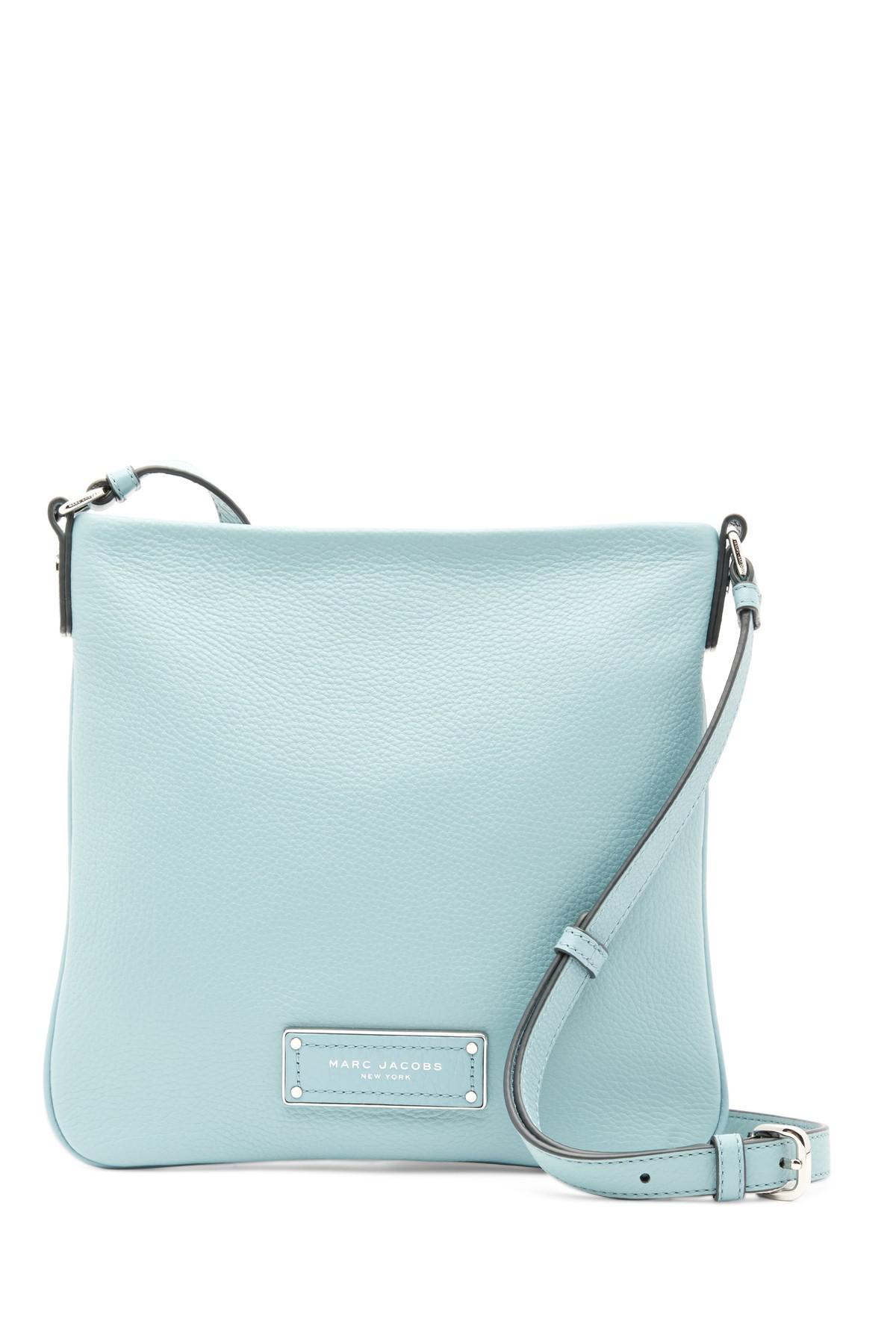 bd1f4d0a4cb88 Lyst - Marc Jacobs Too Hot To Handle Sia Leather Crossbody Bag in Blue