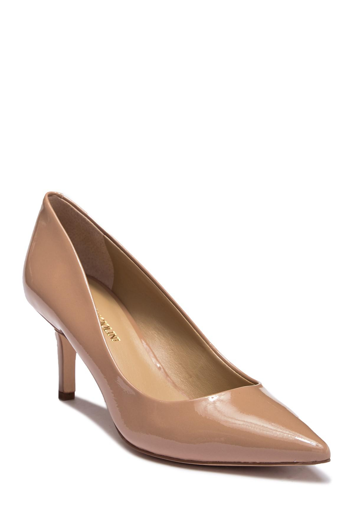 9542392bb7c Enzo Angiolini Darla Pump in Natural - Save 19% - Lyst