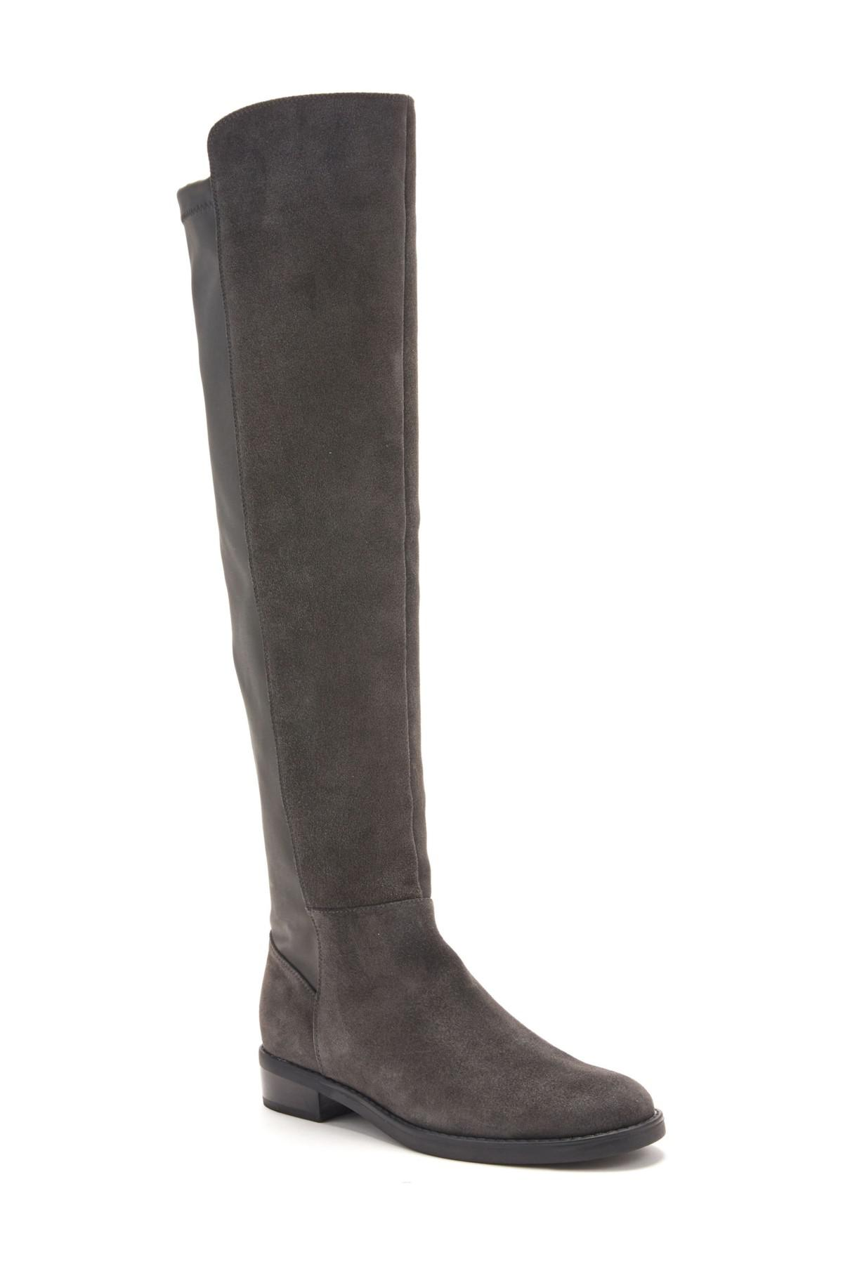 c97110bba69 Lyst - Blondo Olivia Knee High Boot in Gray