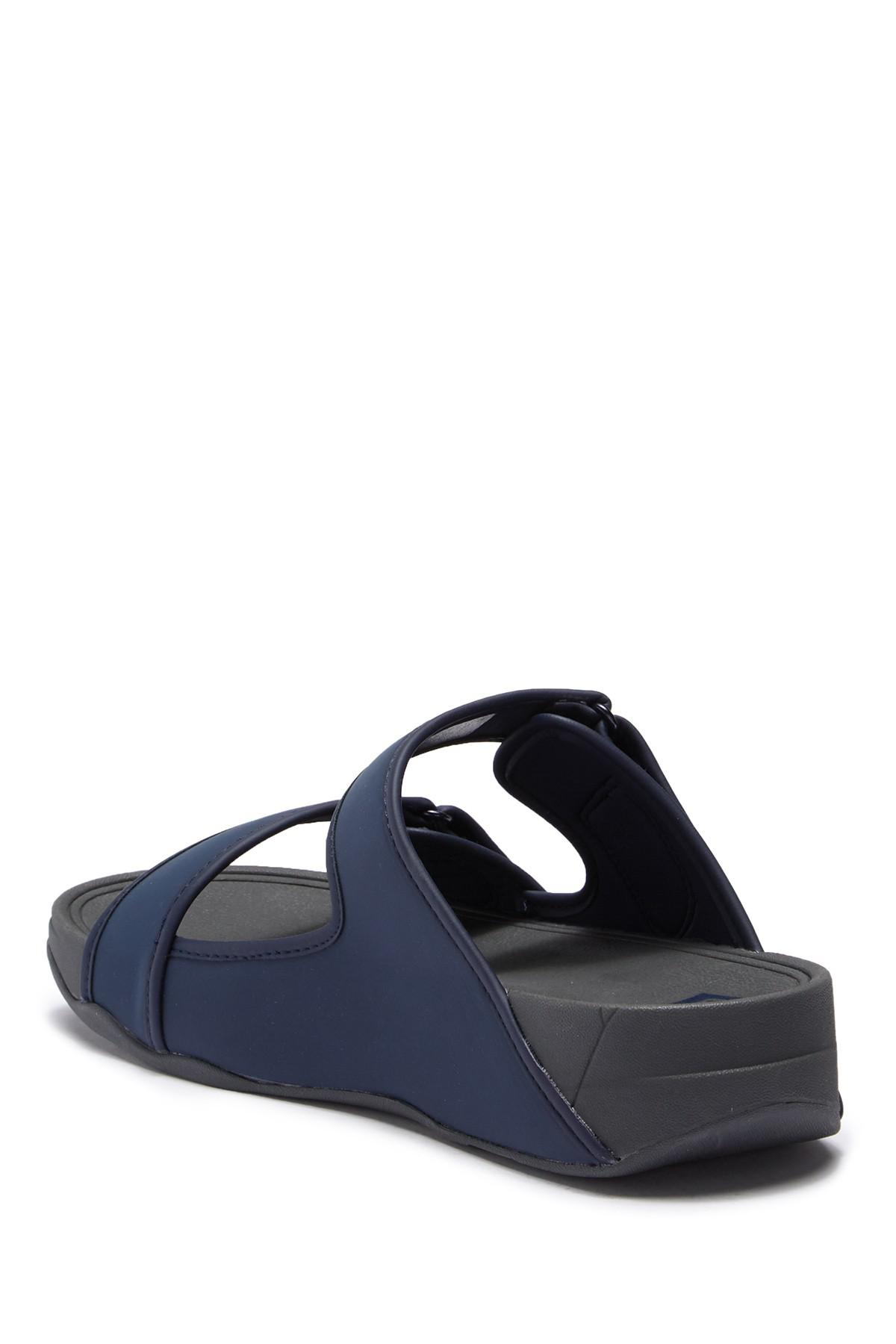 1d95d68a2cf7ba Lyst - Fitflop Sandals in Blue for Men - Save 51%