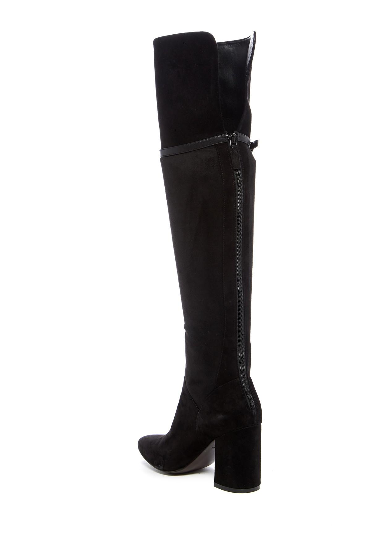 80881b9525e Cole Haan - Black Darcia Over-the-knee Boot - Lyst. View fullscreen