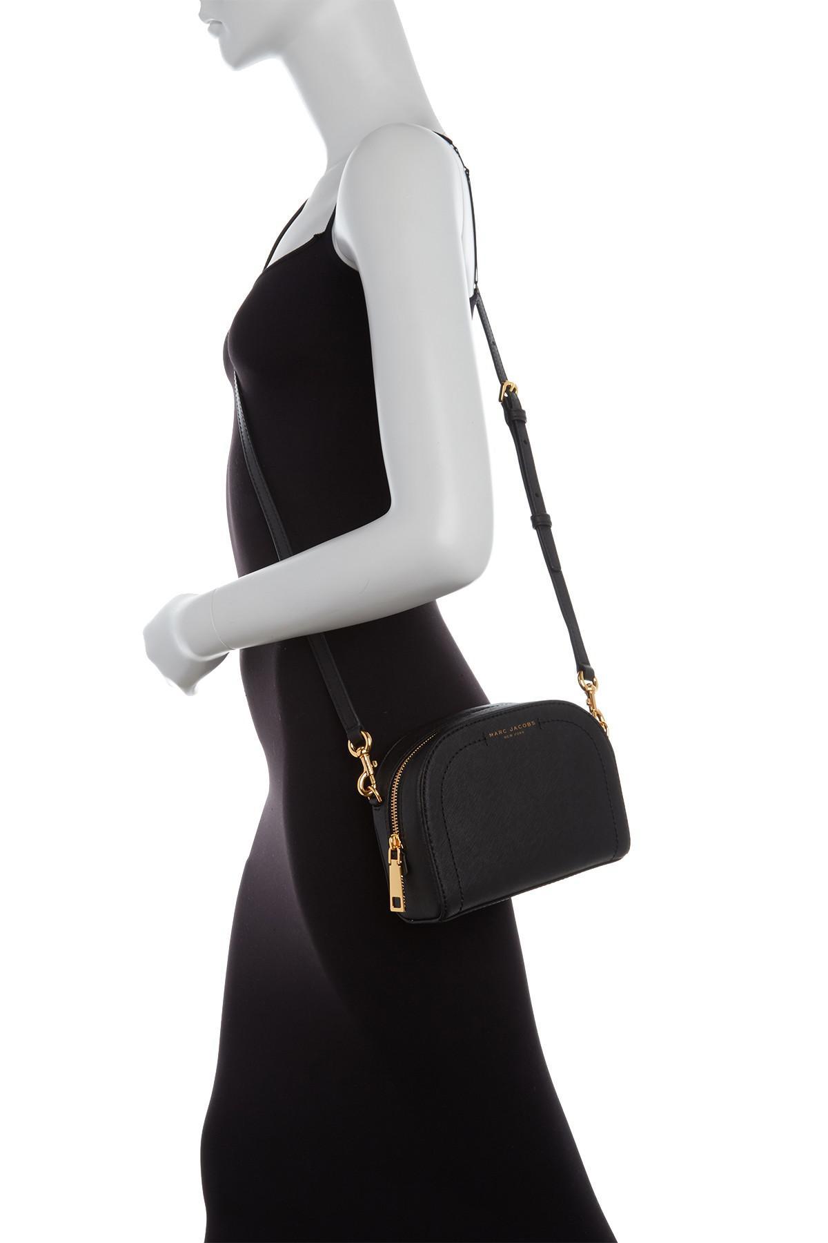 6beef699007d5 Marc Jacobs - Black Playback Leather Crossbody Bag - Lyst. View fullscreen