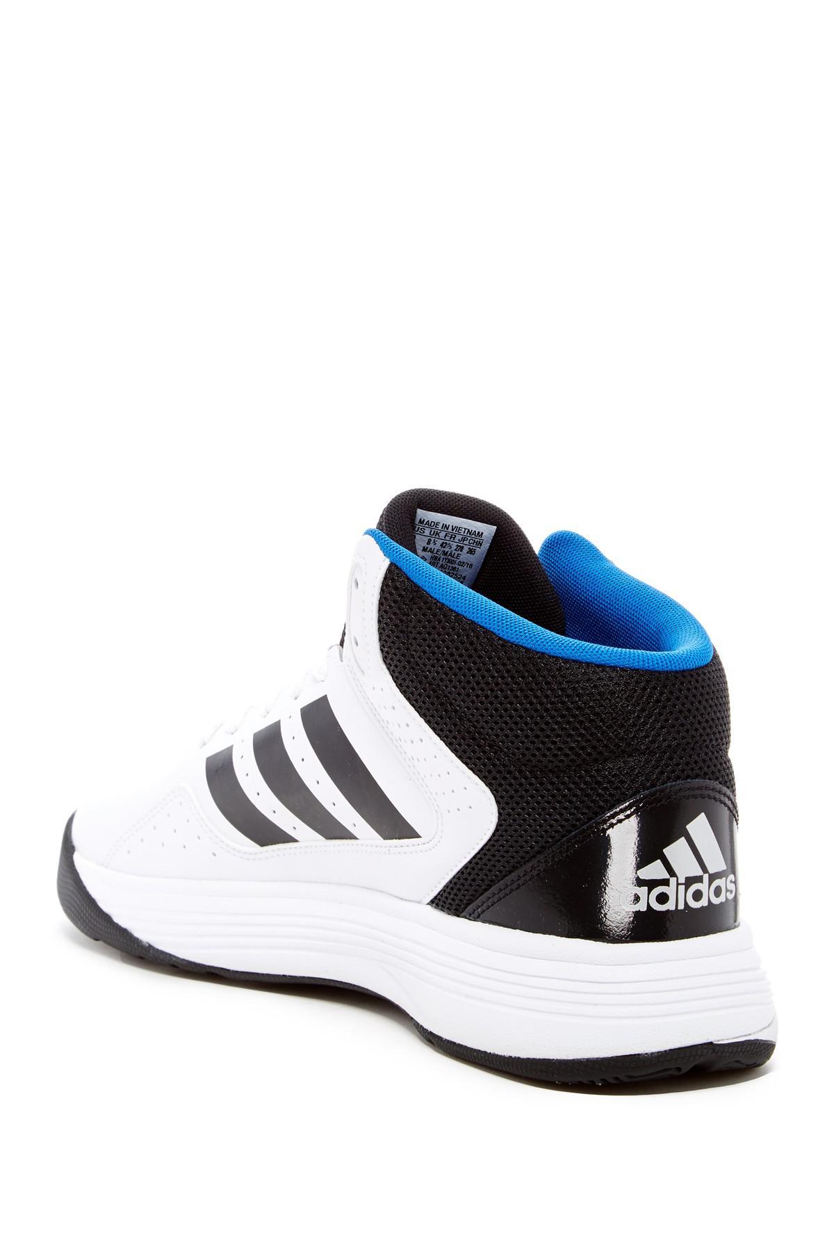 Recopilación de mediados cloudfoam Lyst Adidas zapatilla en color azul para hombres