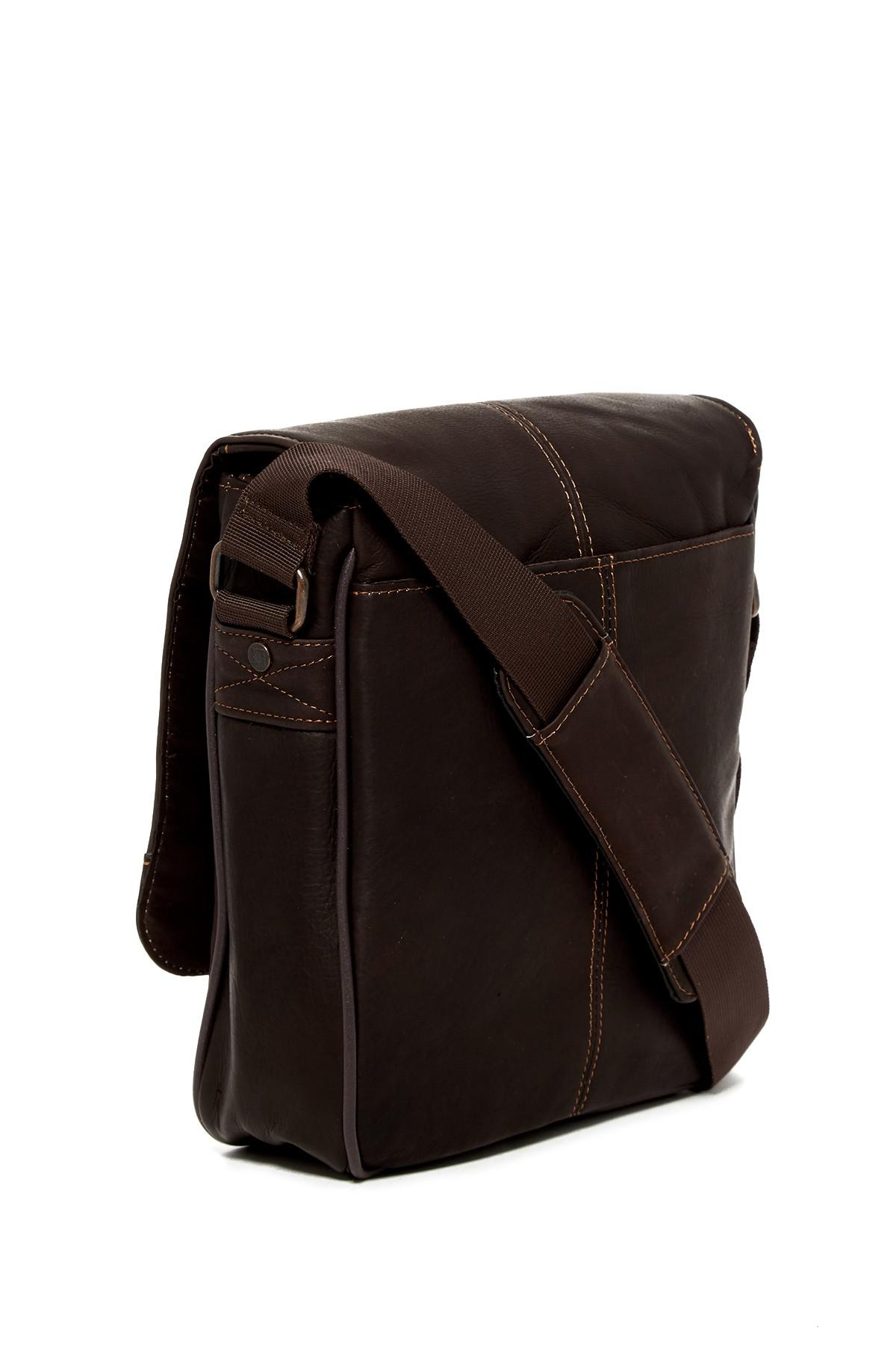 d4ae192a2c Lyst - Kenneth Cole Bag-street Boy Leather Crossbody in Brown for Men