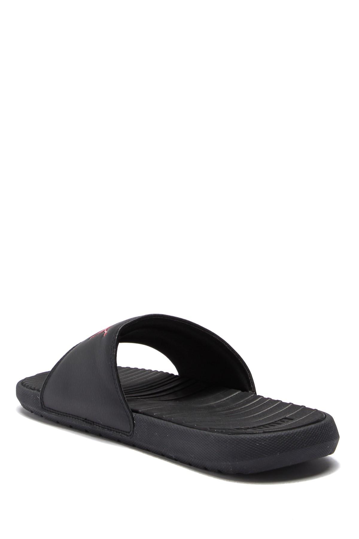 c5319b197 PUMA - Black Cool Cat Slide Sandal for Men - Lyst. View fullscreen