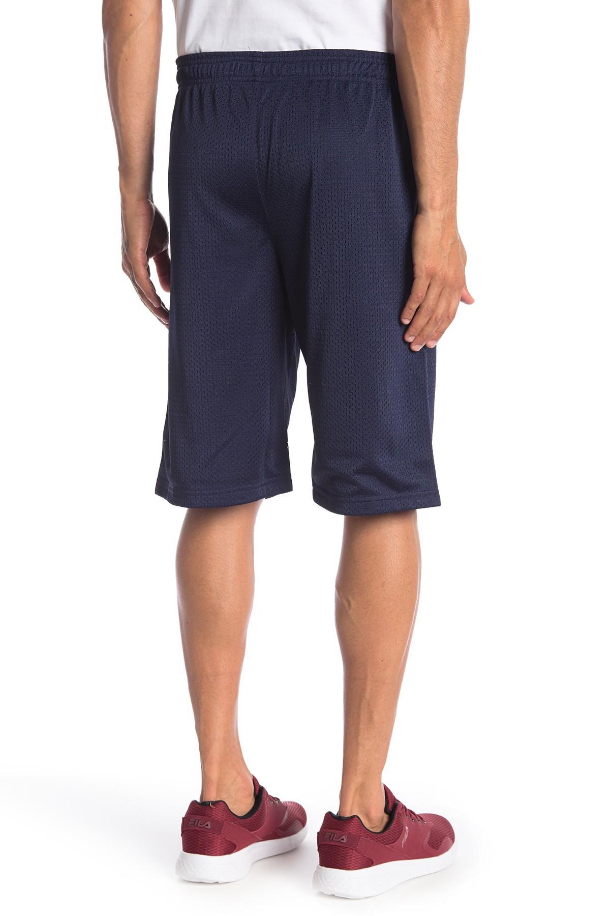 b5379606f6e84 Fila - Blue Dazzle Mesh Shorts for Men - Lyst. View fullscreen