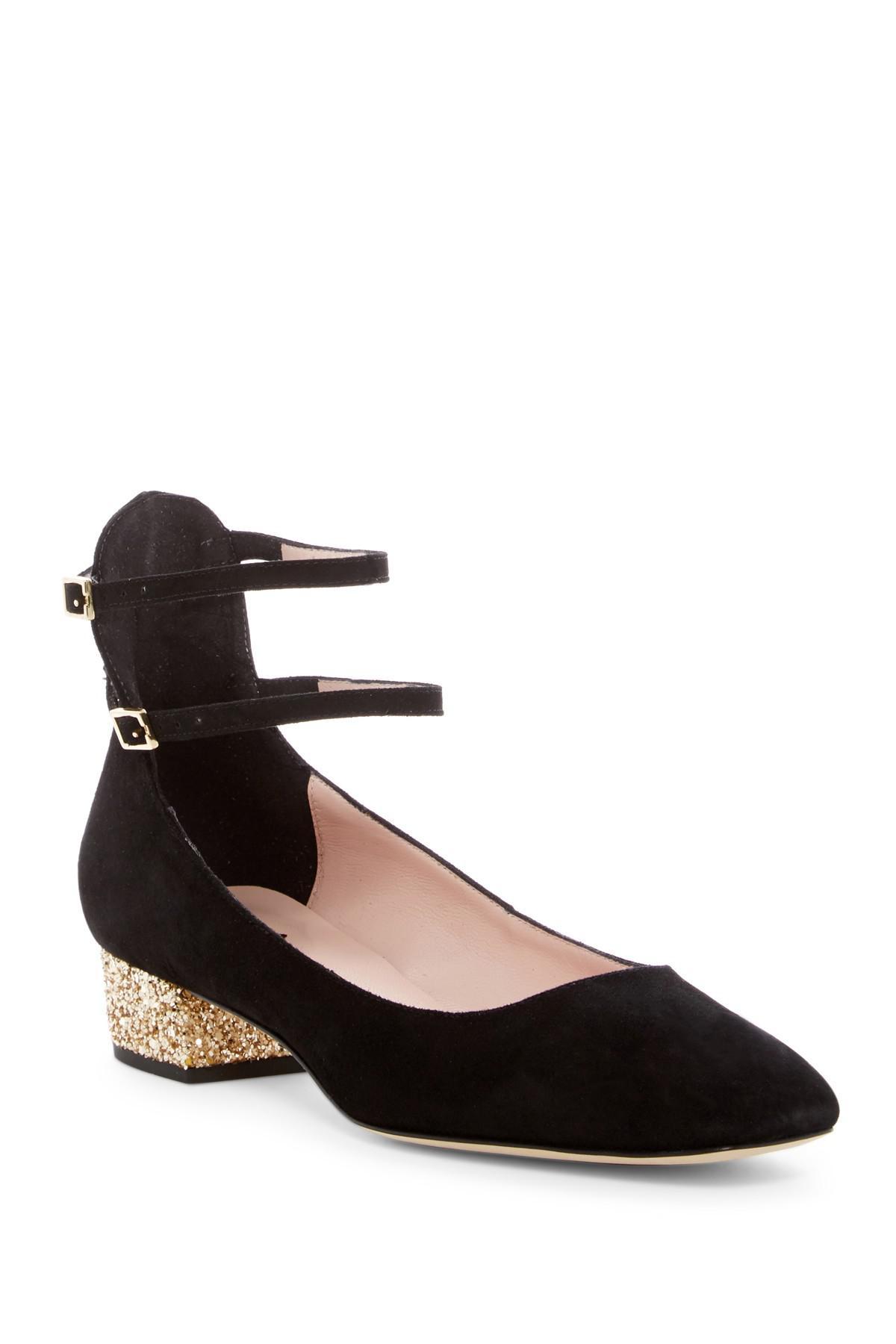 b0afa28cabb3 Lyst - Kate Spade Marcellina Dress Shoe in Black