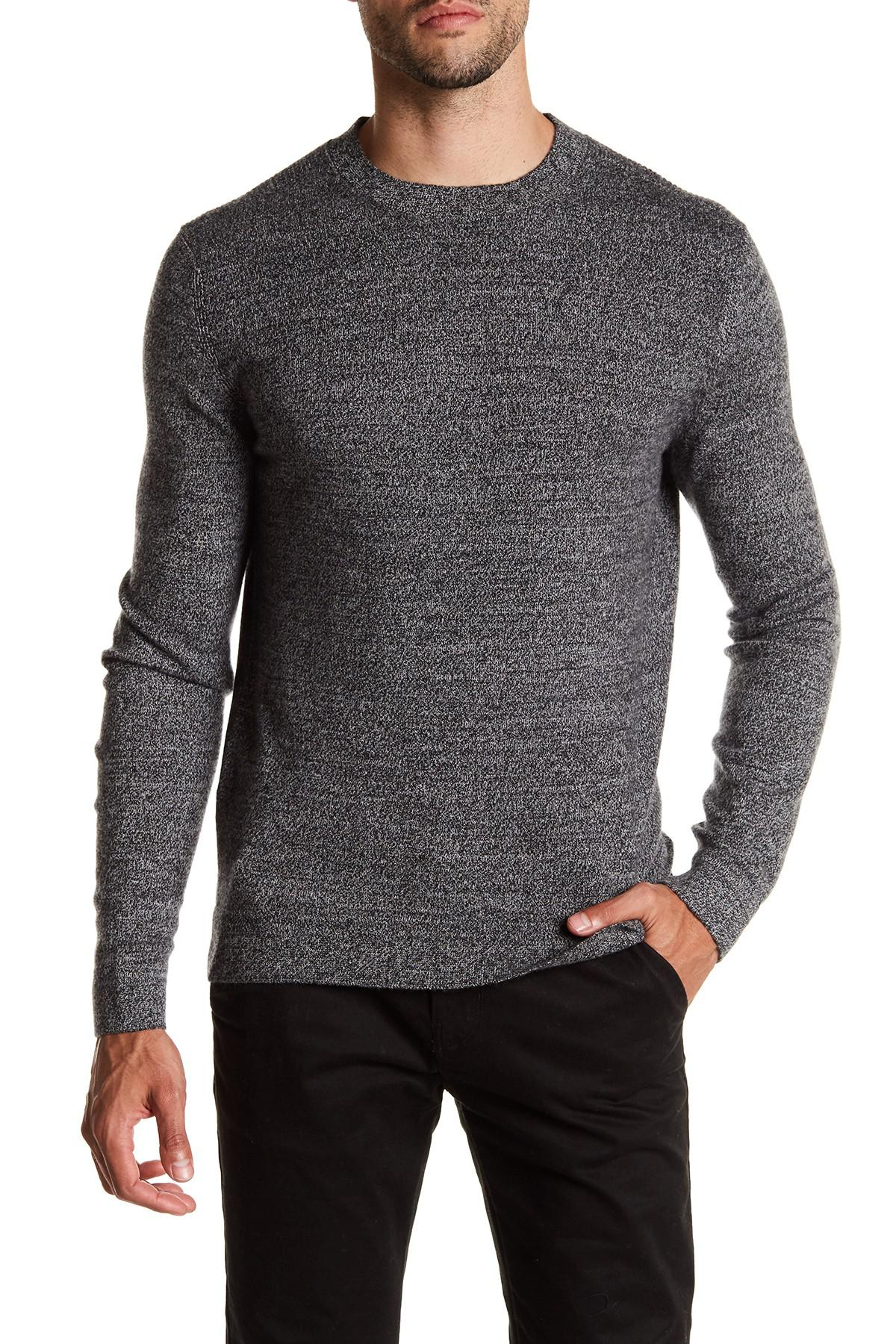 Lyst Theory Donners Cashmere Sweater In Gray For Men