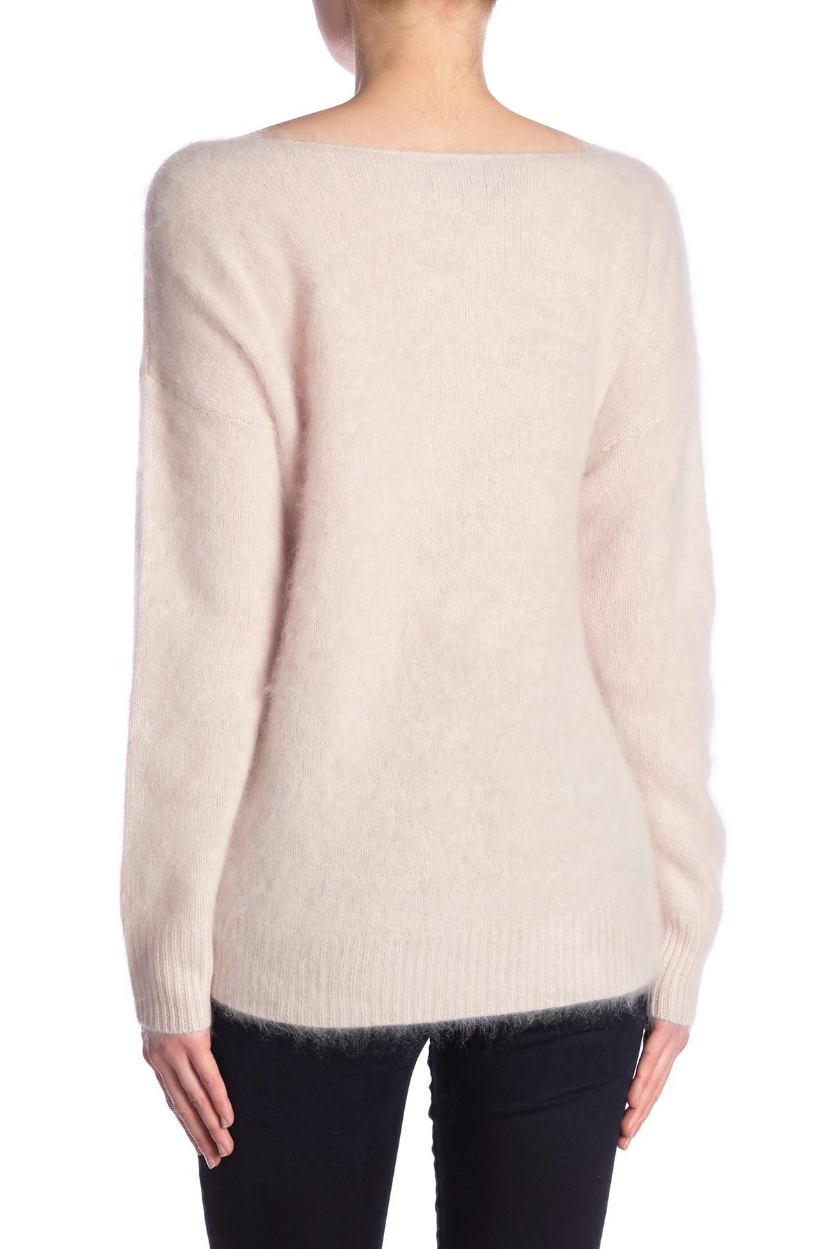 f3ad43807 Lyst - 360cashmere Catherine Cashmere Crew Neck Sweater in Pink