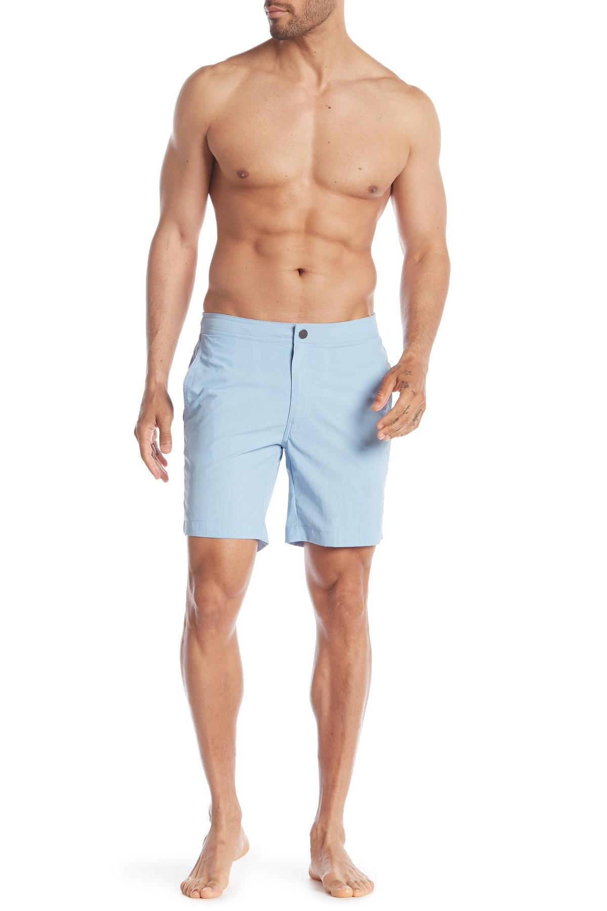 c4454693ef543 Onia Calder Swim Trunks in Blue for Men - Lyst