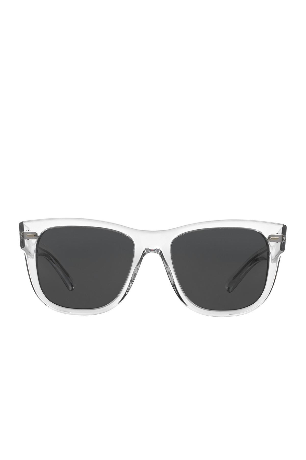 1b4559bdef Dolce   Gabbana - Gray 55mm Square Sunglasses - Lyst. View fullscreen