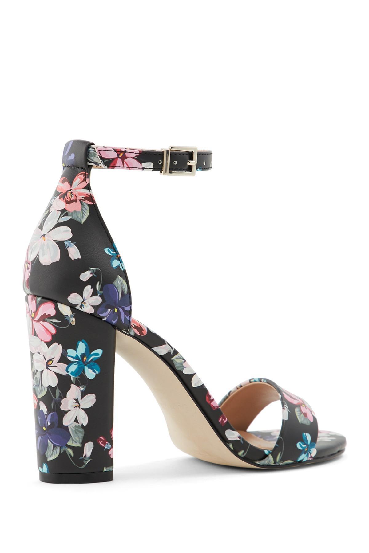 2b50dc3059 Call It Spring - Black Tayvia Block Heel Sandal - Lyst. View fullscreen
