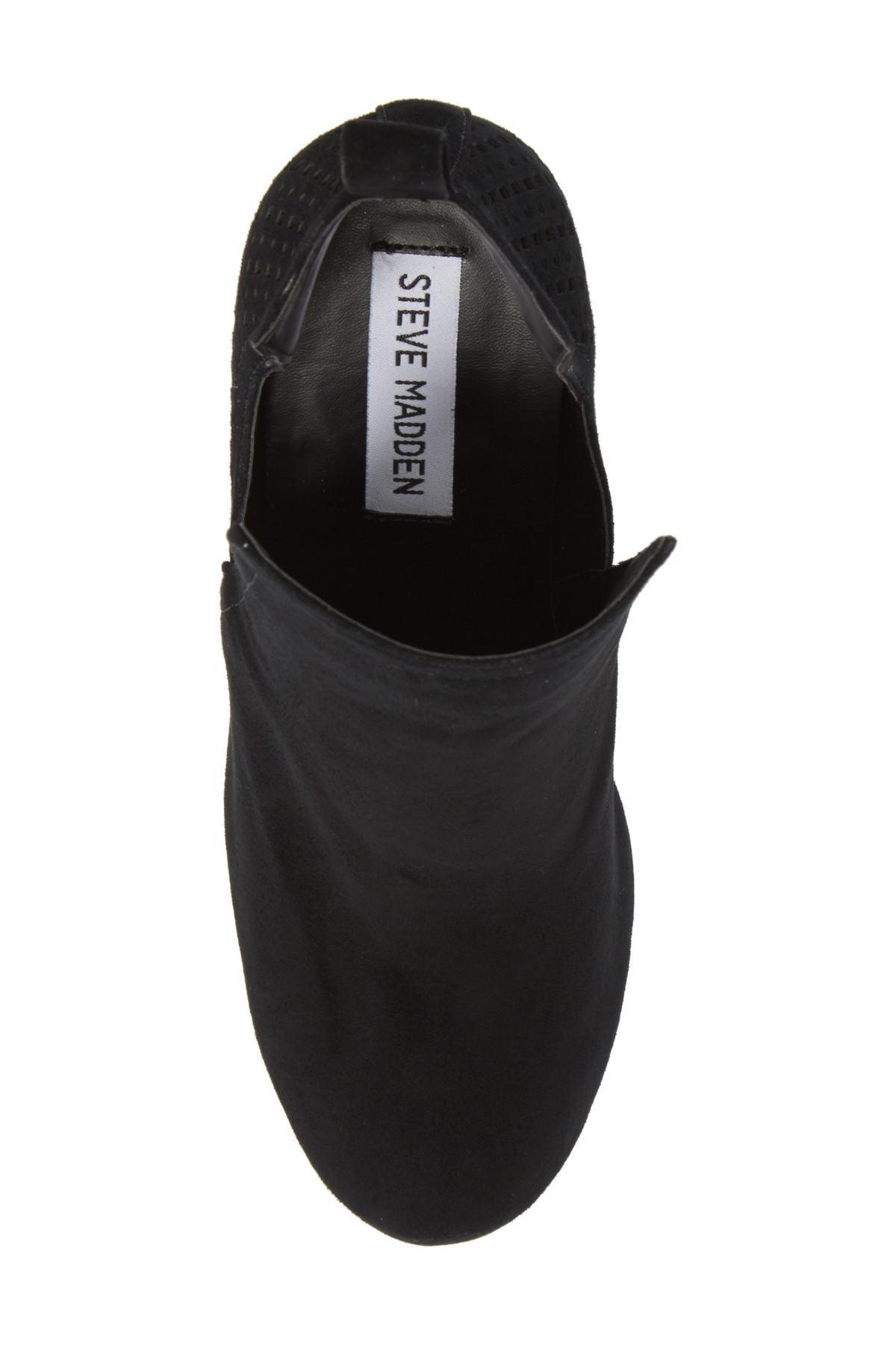 fafab3e0b73 Lyst - Steve Madden Nomad Bootie (women) in Black