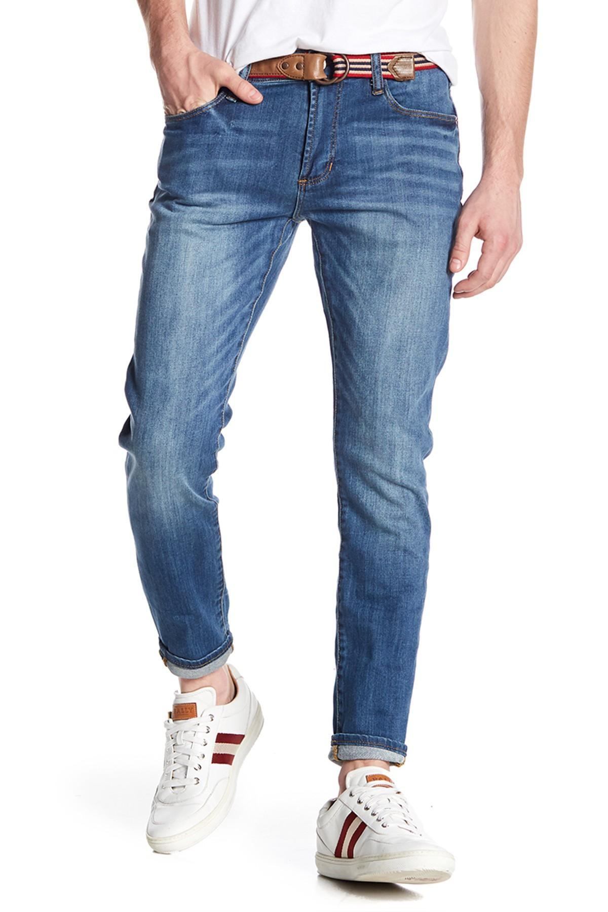 7ad4c4b983 Lyst - Articles of Society Dylan Washed Denim Slim Jeans in Blue for Men
