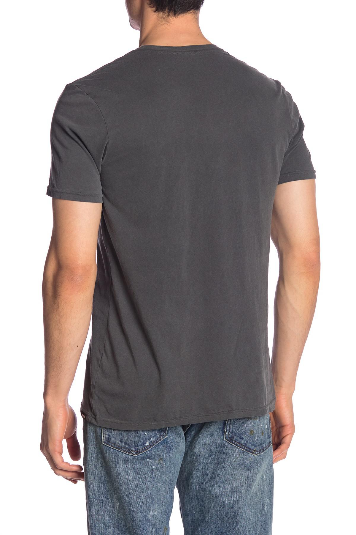 Lyst Rip Curl Rubber Soul Custom Pocket Tee In Gray For Men