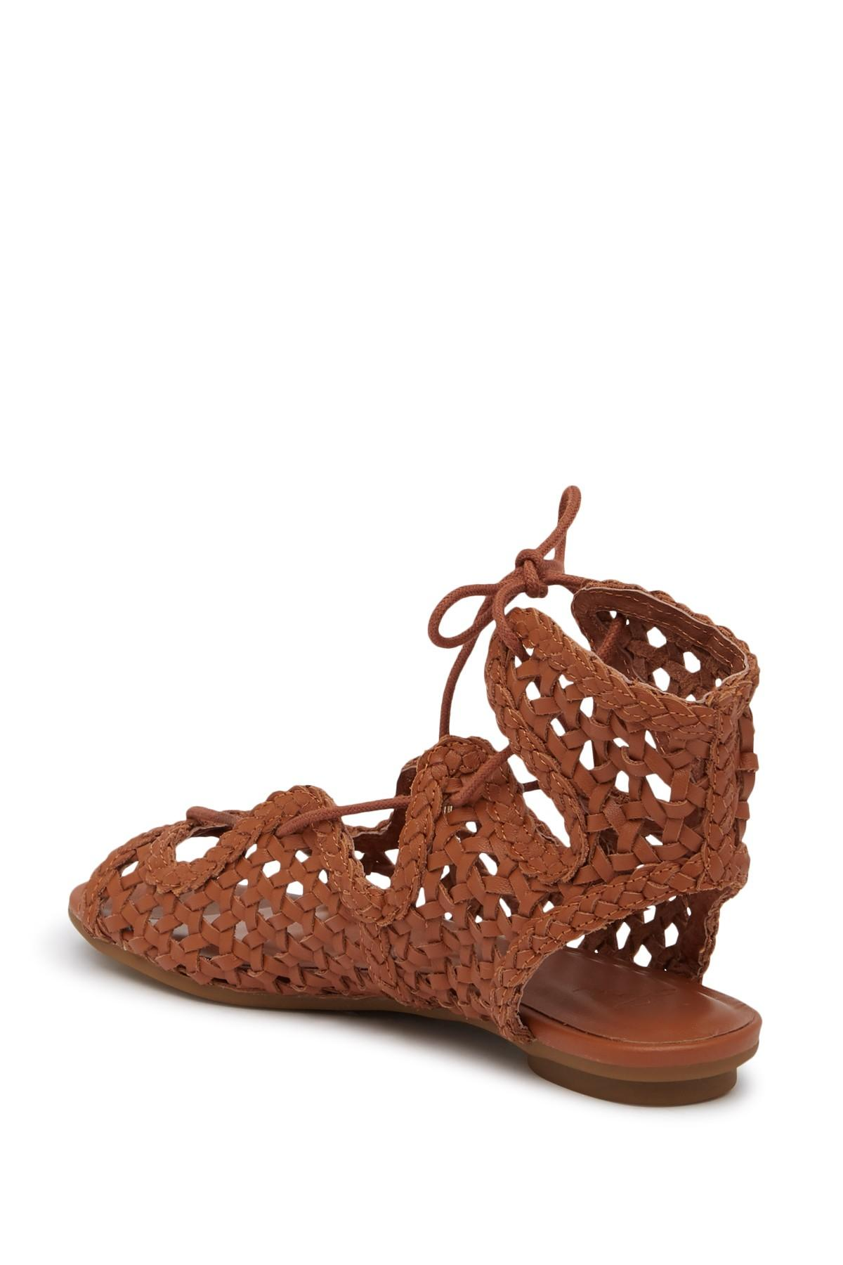 152bf09ad77 Joie - Brown Fannie Leather Gladiator Sandal - Lyst. View fullscreen