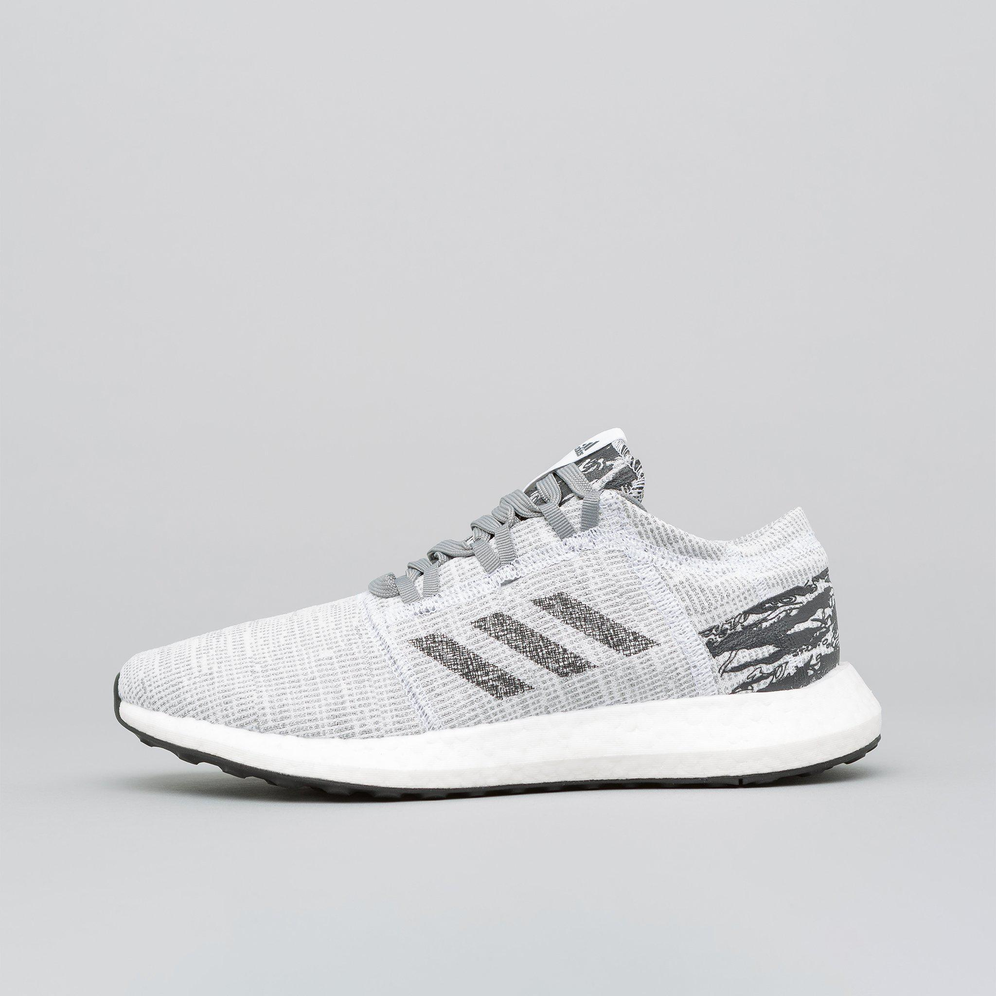c1976d8181cfa0 Lyst - adidas X Undefeated Pureboost Go In Core Black for Men