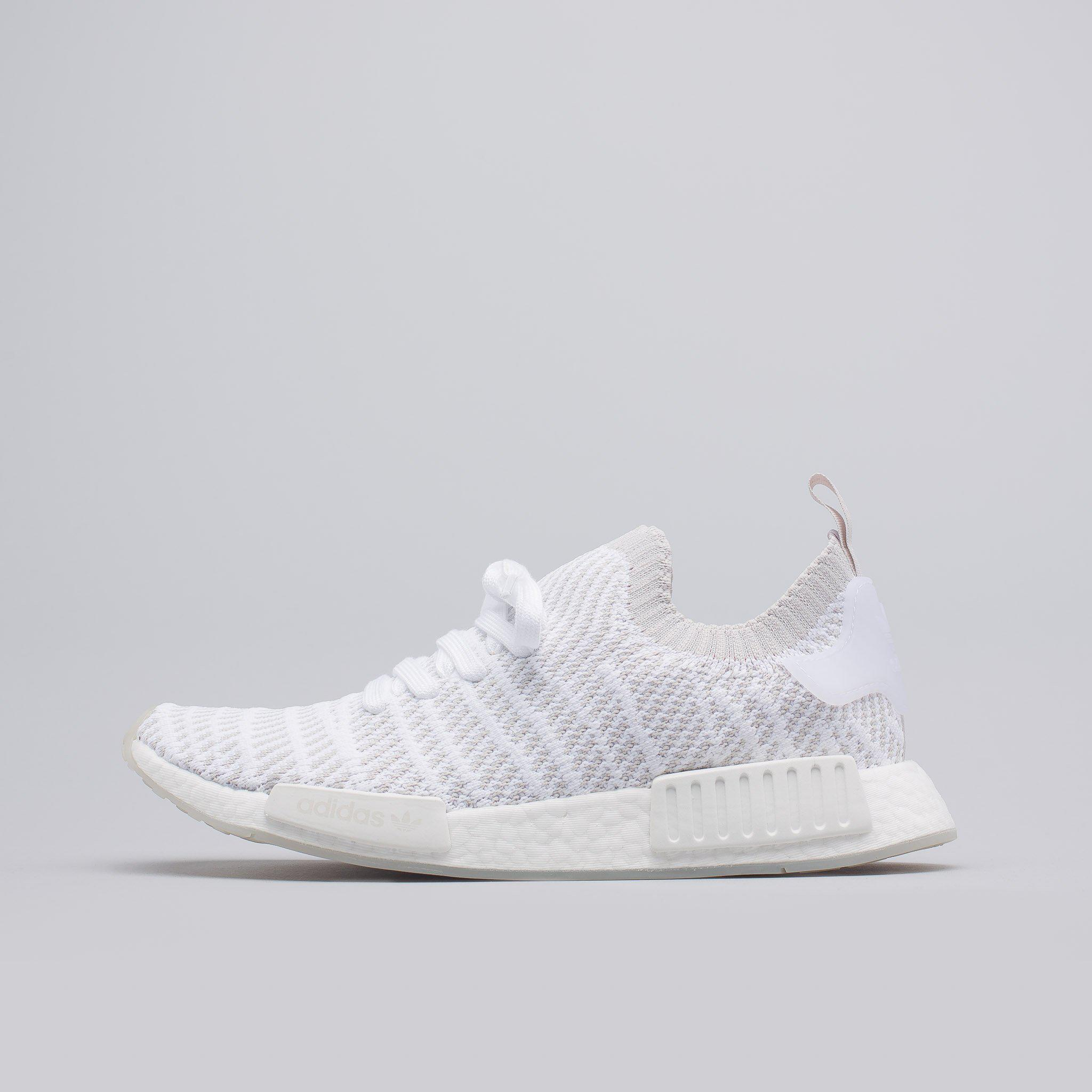 Lyst Adidas Nmd R1 Stlt Primeknit In White In White For Men