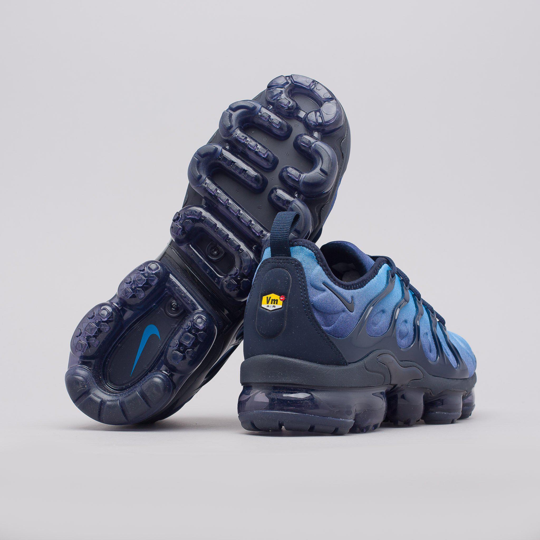 d954c0b48e1f8 Lyst - Nike Air Vapormax Plus In Obsidian in Blue for Men