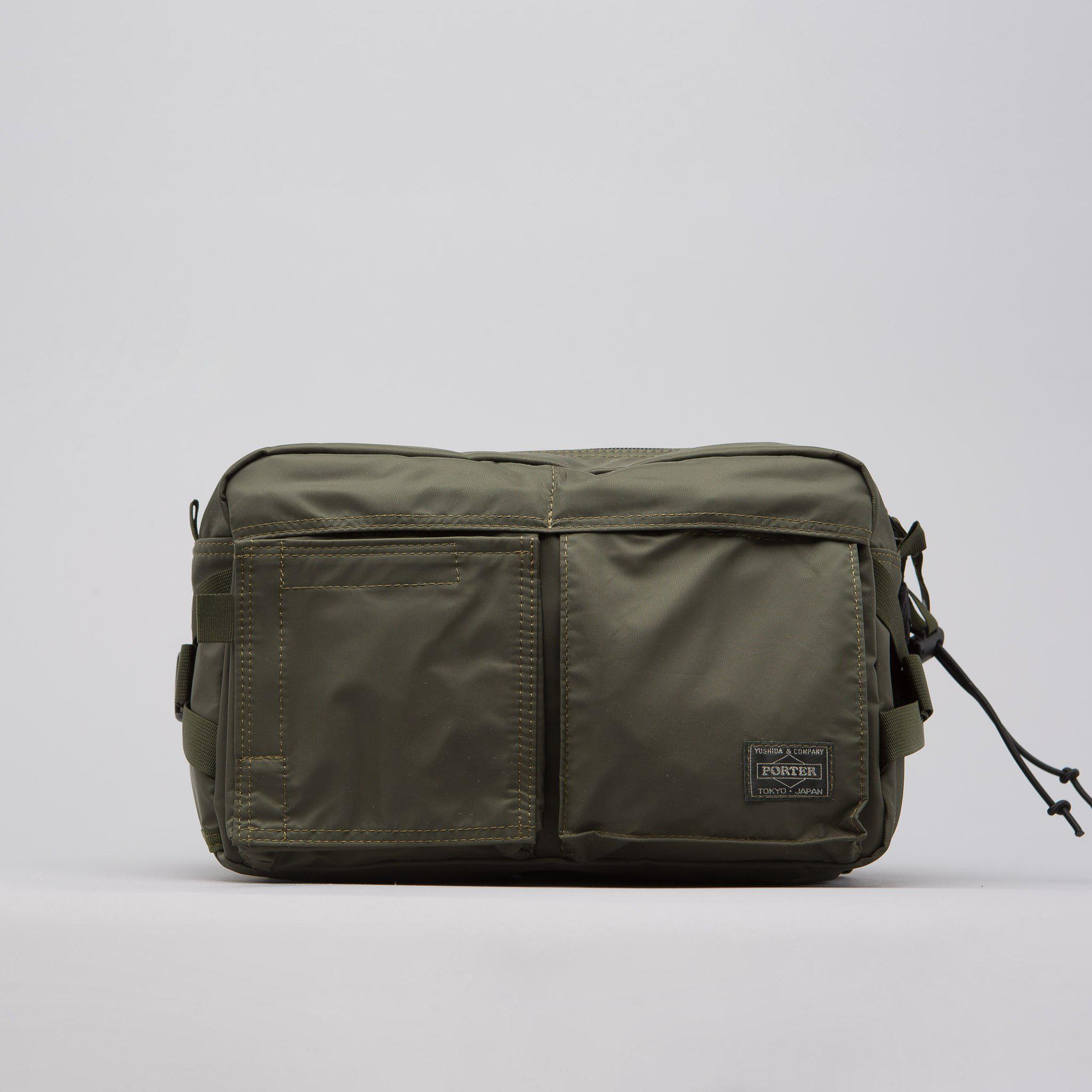 2cc3ac998f4c Lyst - Head Porter New Waist Bag In Olive Drab in Green for Men
