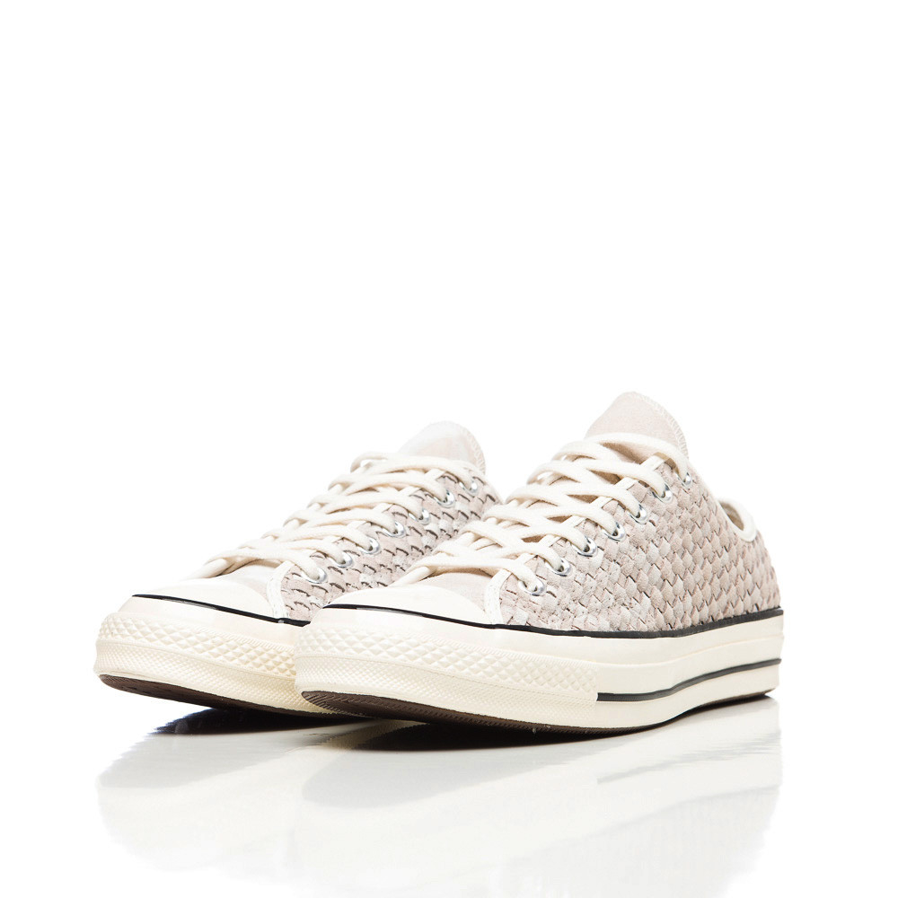 Converse Chuck Taylor All Star 70 Low In White Woven Suede for men