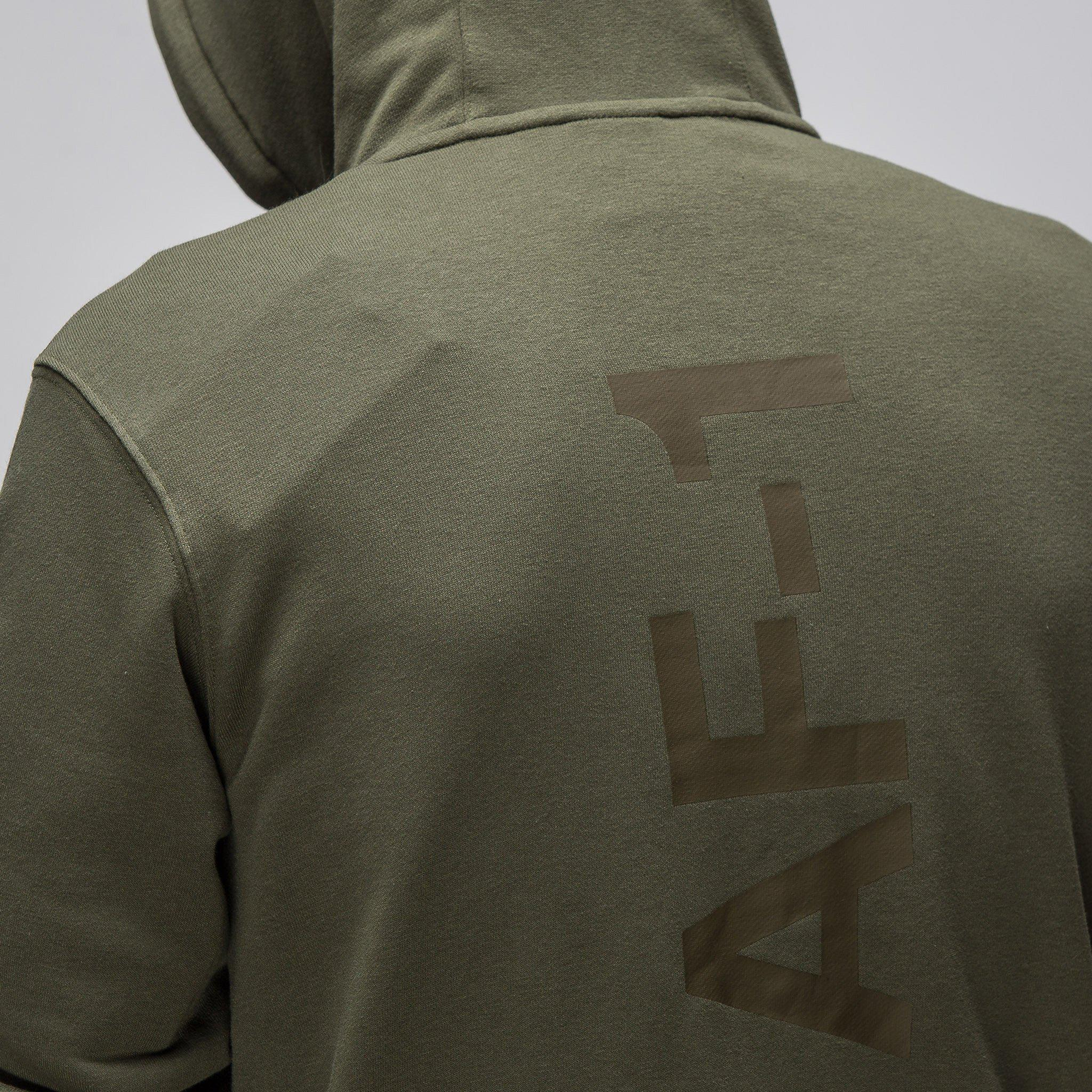 77e8c1ea813e Lyst - Nike Sportswear Af1 Full Zip Hoodie In Cargo Khaki in Green ...