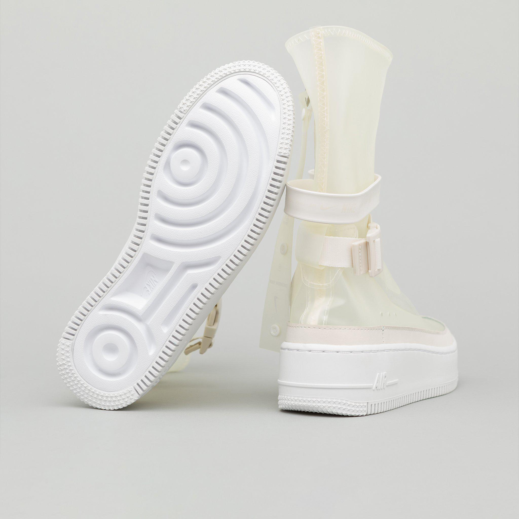 official photos d20cd 96caf Nike Women s Air Force 1 Sage High Lux In Phantom in White for Men ...