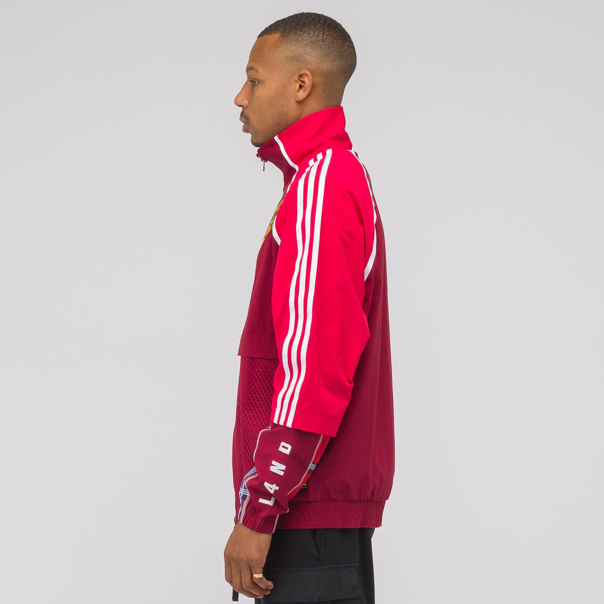 c59e85911240 Lyst - adidas X Pharrell Williams Solar Hu Track Top In Red in Red ...