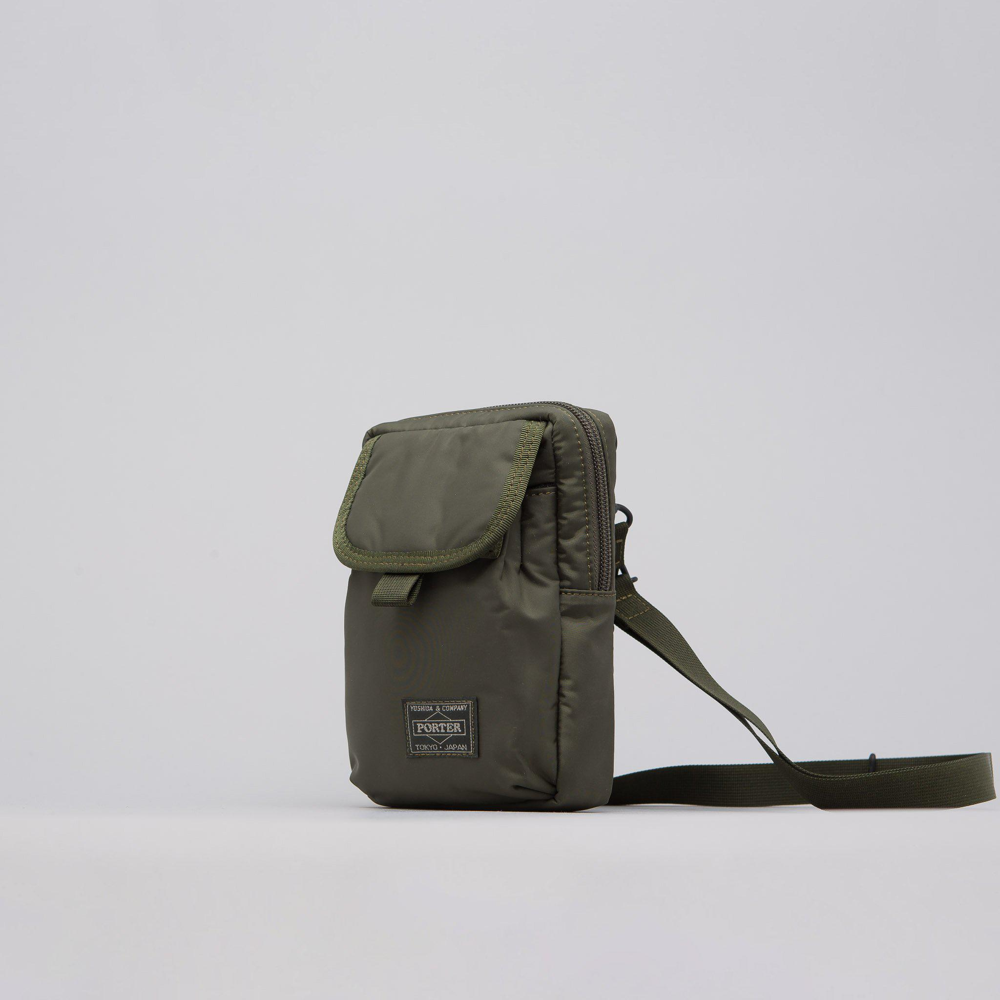 f9b5069c9452 Lyst - Head Porter Shoulder Pouch In Olive Drab in Green for Men