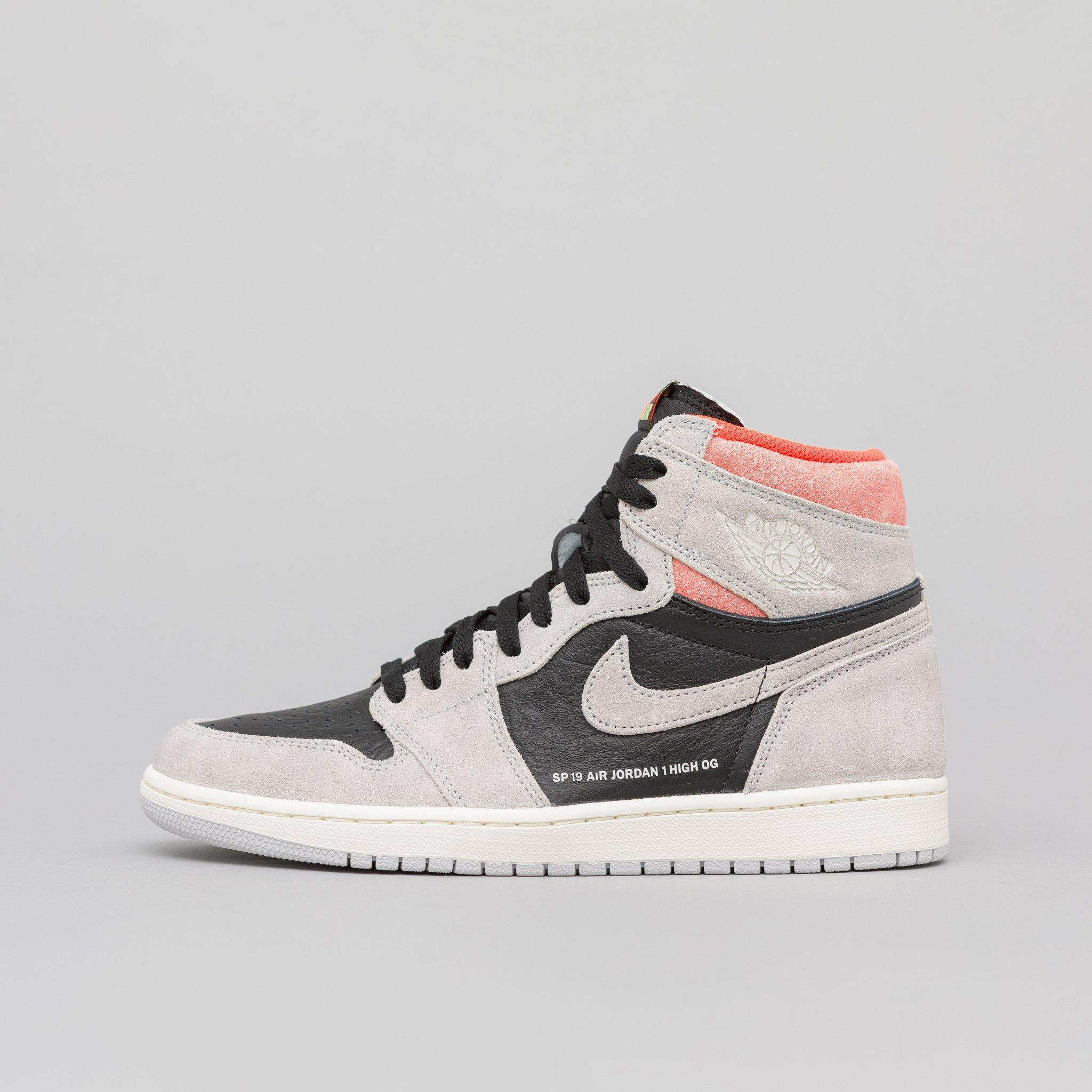 6a849667f33646 Lyst - Nike Air 1 Retro High Og In Neutral Grey in Gray for Men