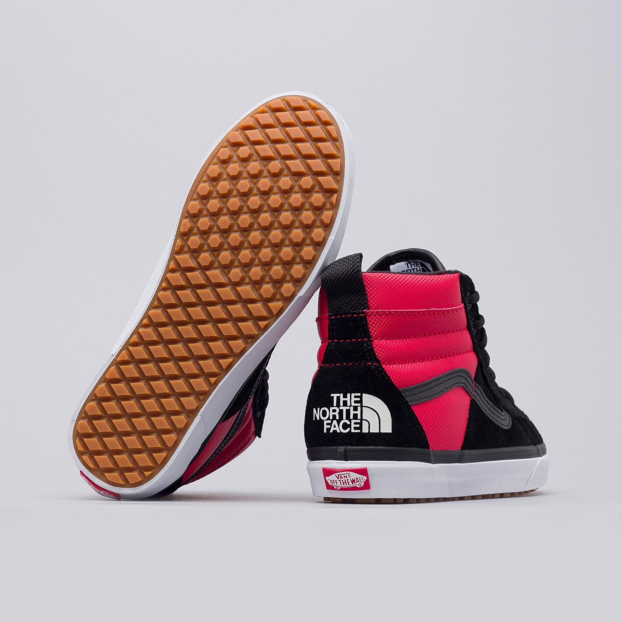 e037ef3070b Lyst - Vans X The North Face Sk8-hi 46 Mte Dx In Red black in Red ...