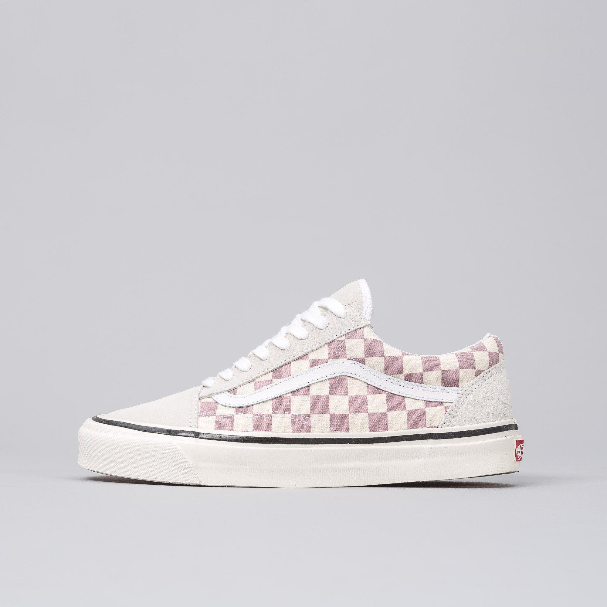 vans old skool grey checkerboard