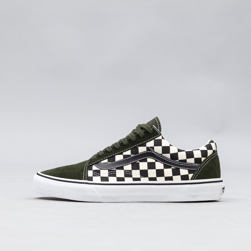 d49cc339aa969e Lyst - Vans 50th Anniversary Old Skool In Checkerboard green for Men