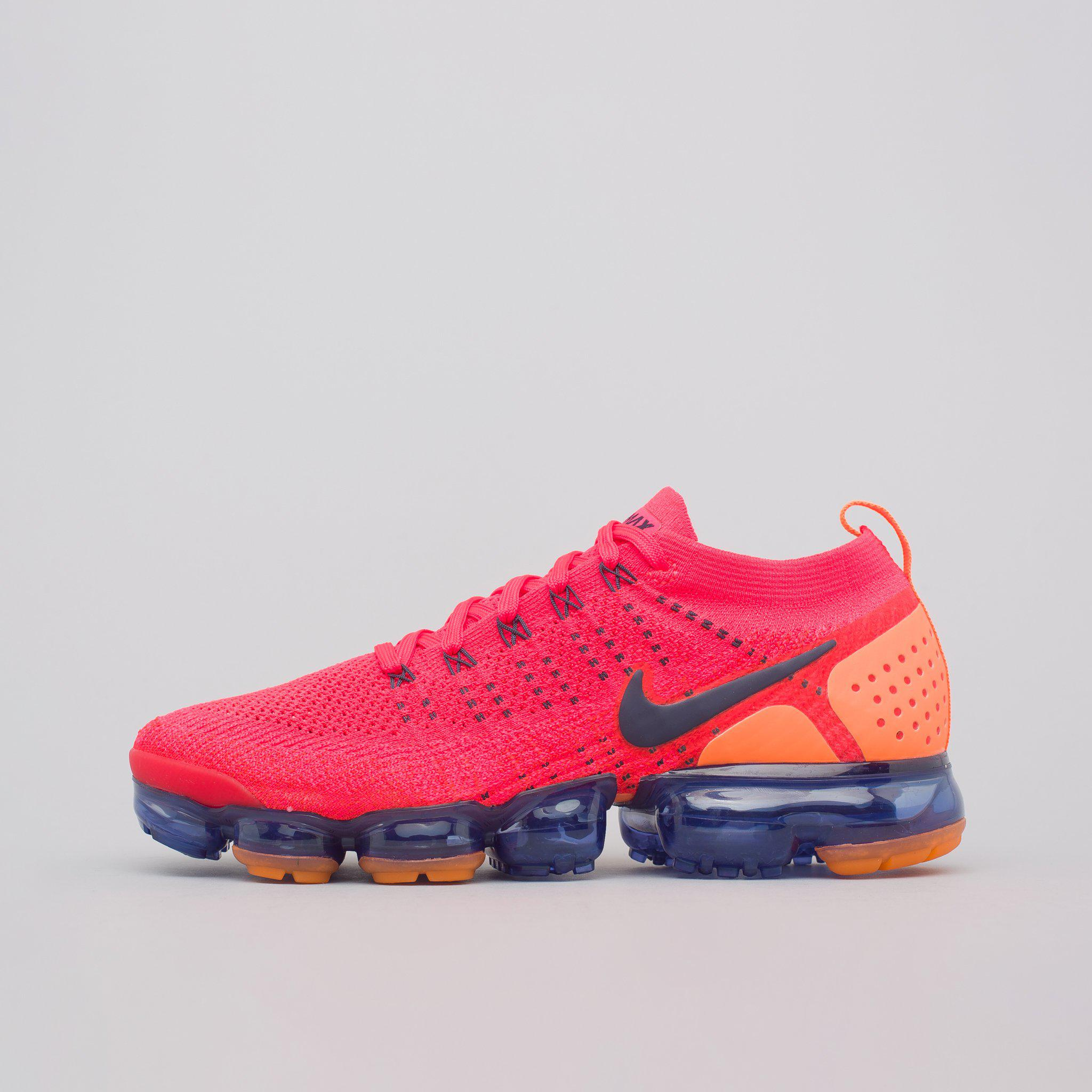 0cfecfc89f93 Lyst - Nike Air Vapormax Flyknit 2 In Red Orbit in Red for Men