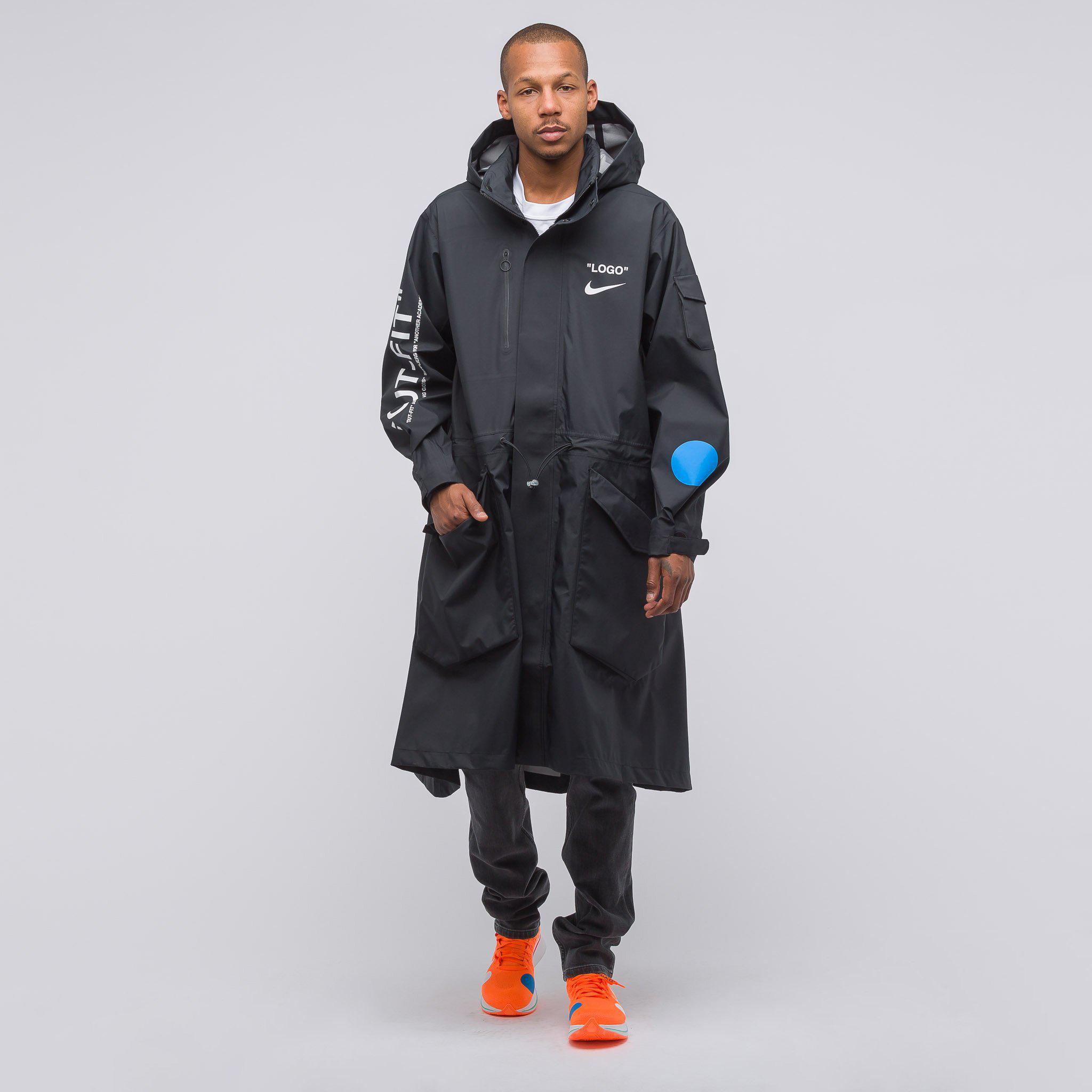 1365f002eb Nike X Off-white Jacket In Black in Black for Men - Lyst