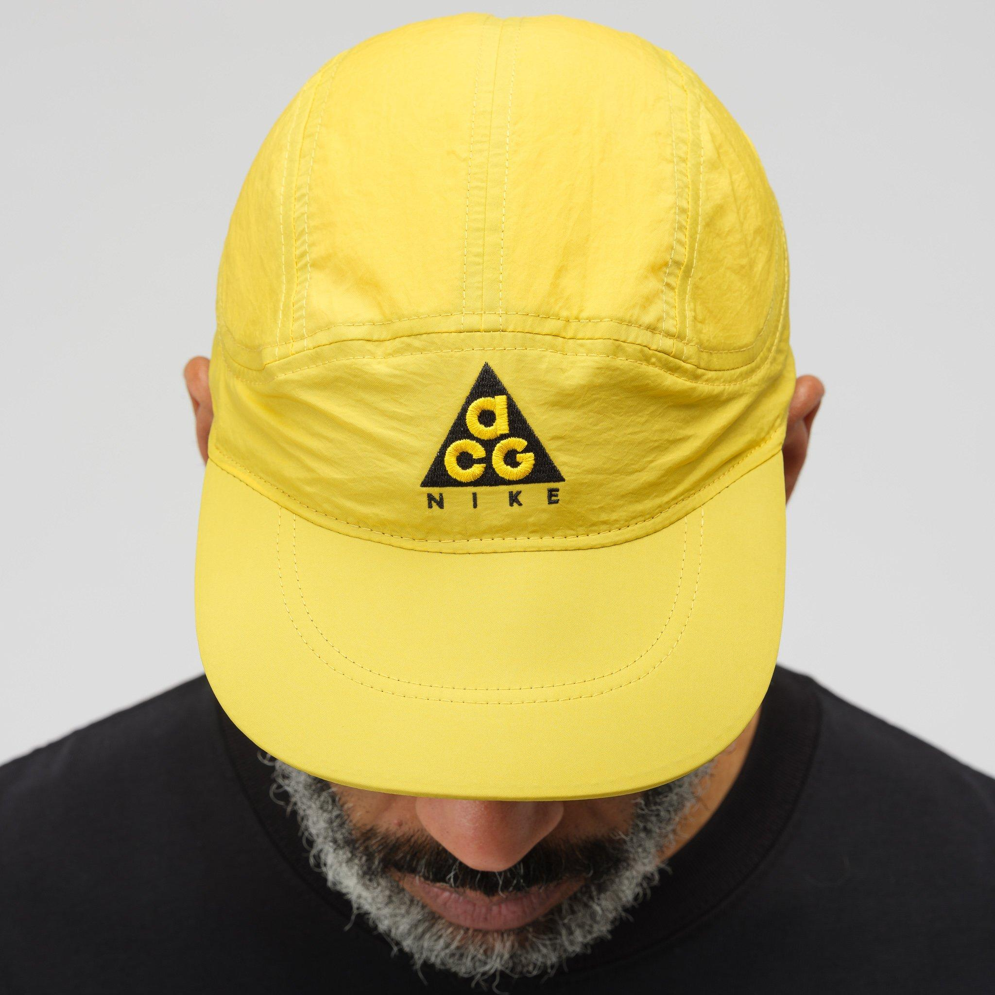 reputable site ba395 70e5a Nike Acg Tailwind Cap In Amarillo black in Black for Men - Lyst