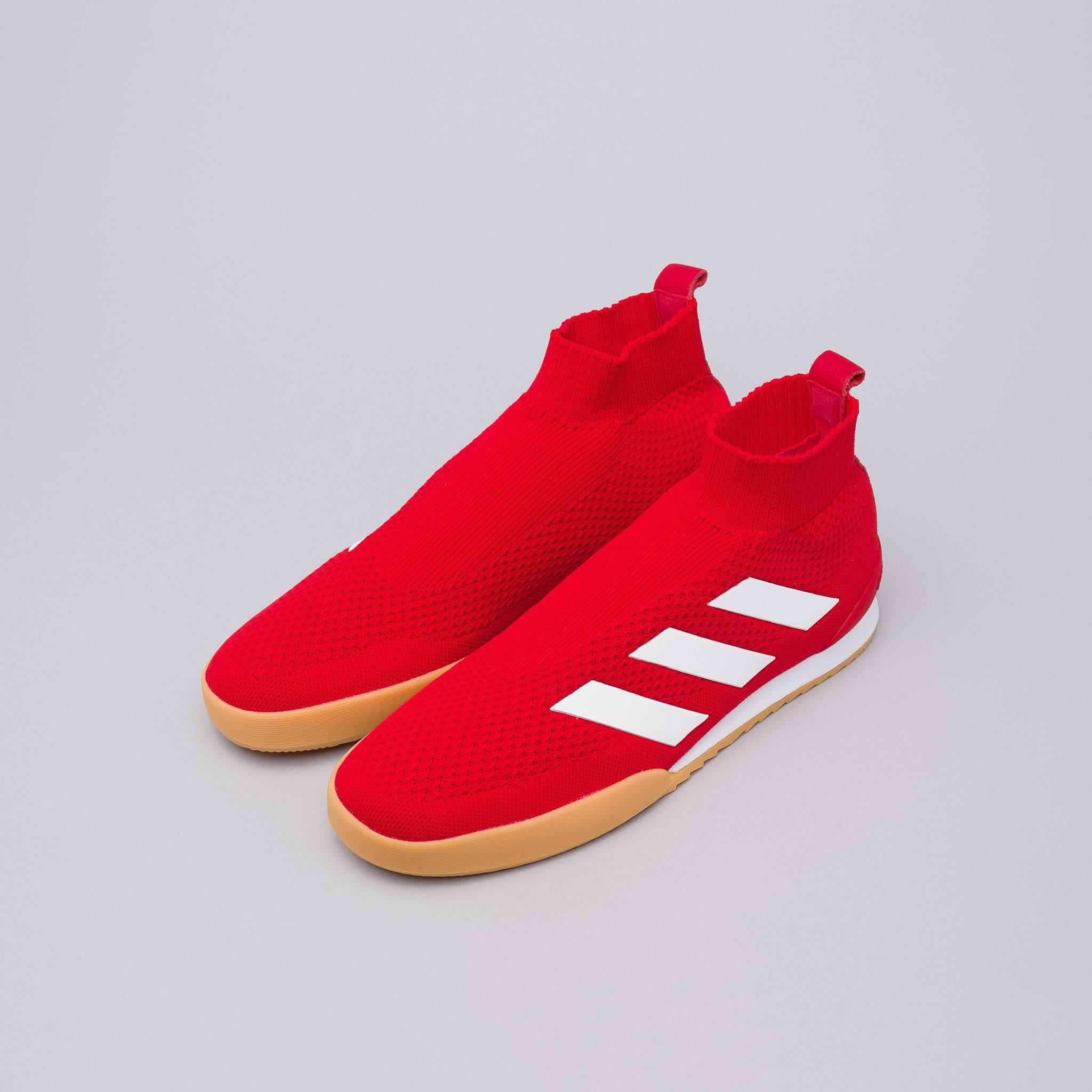 new style 02b74 a773c Lyst - Gosha Rubchinskiy X Adidas Ace Super Shoes In Red in
