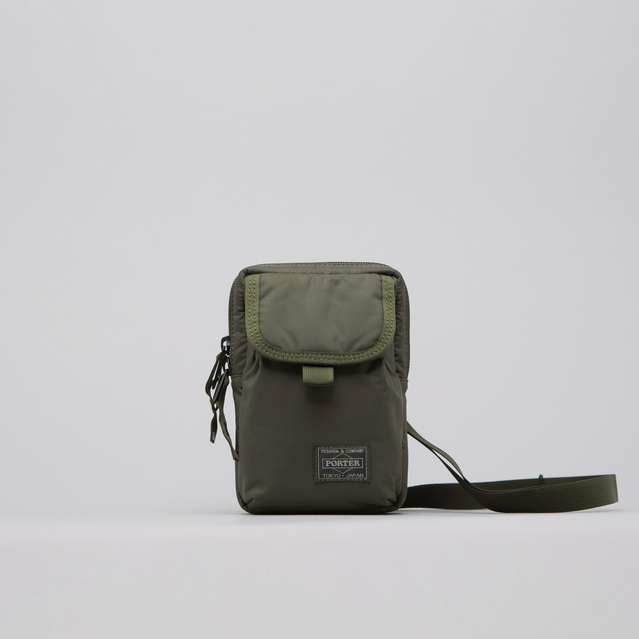 Lyst - Head Porter Shoulder Pouch In Olive Drab in Green for Men 4fbab636267b6
