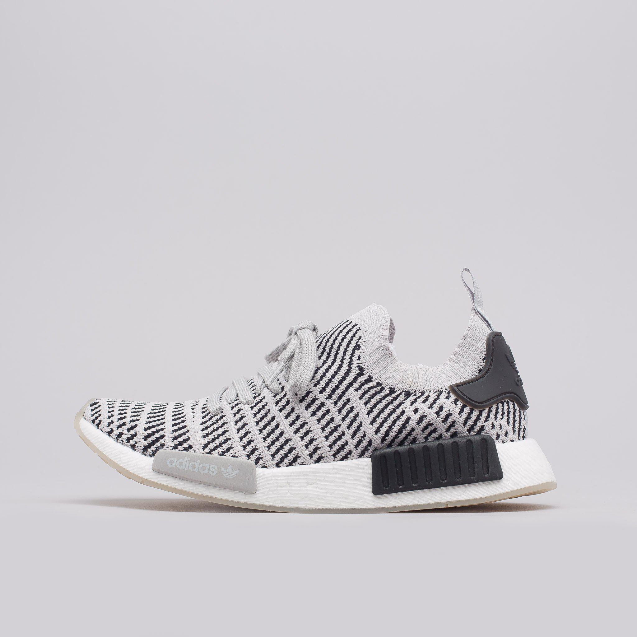 b20faade6 Lyst - adidas Nmd R1 Stlt Primeknit In Grey in Gray for Men