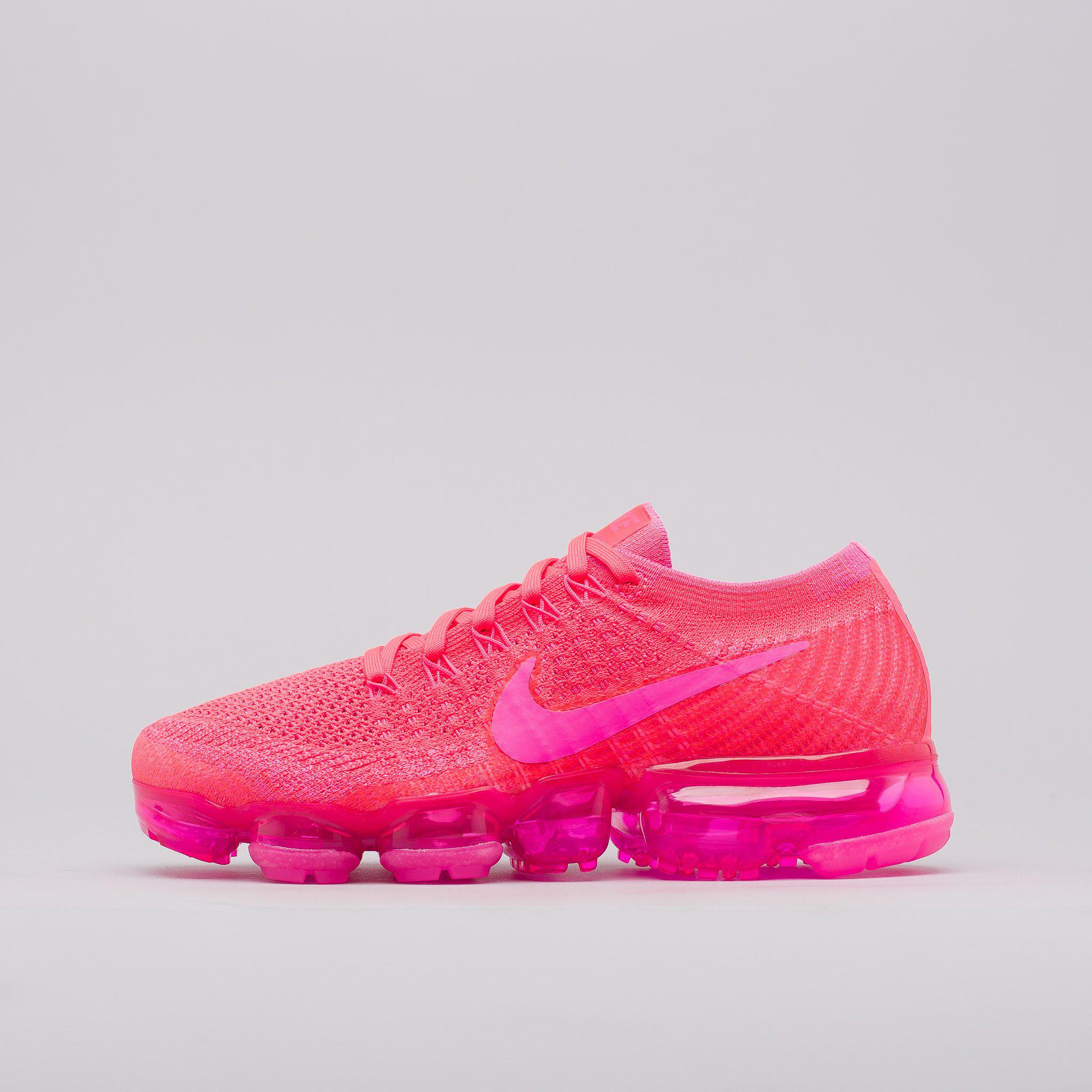 b635b2fa7e8b ... Lyst - Nike Women s Air Vapormax Flyknit In Hyper Punch in Pink for Men  ...