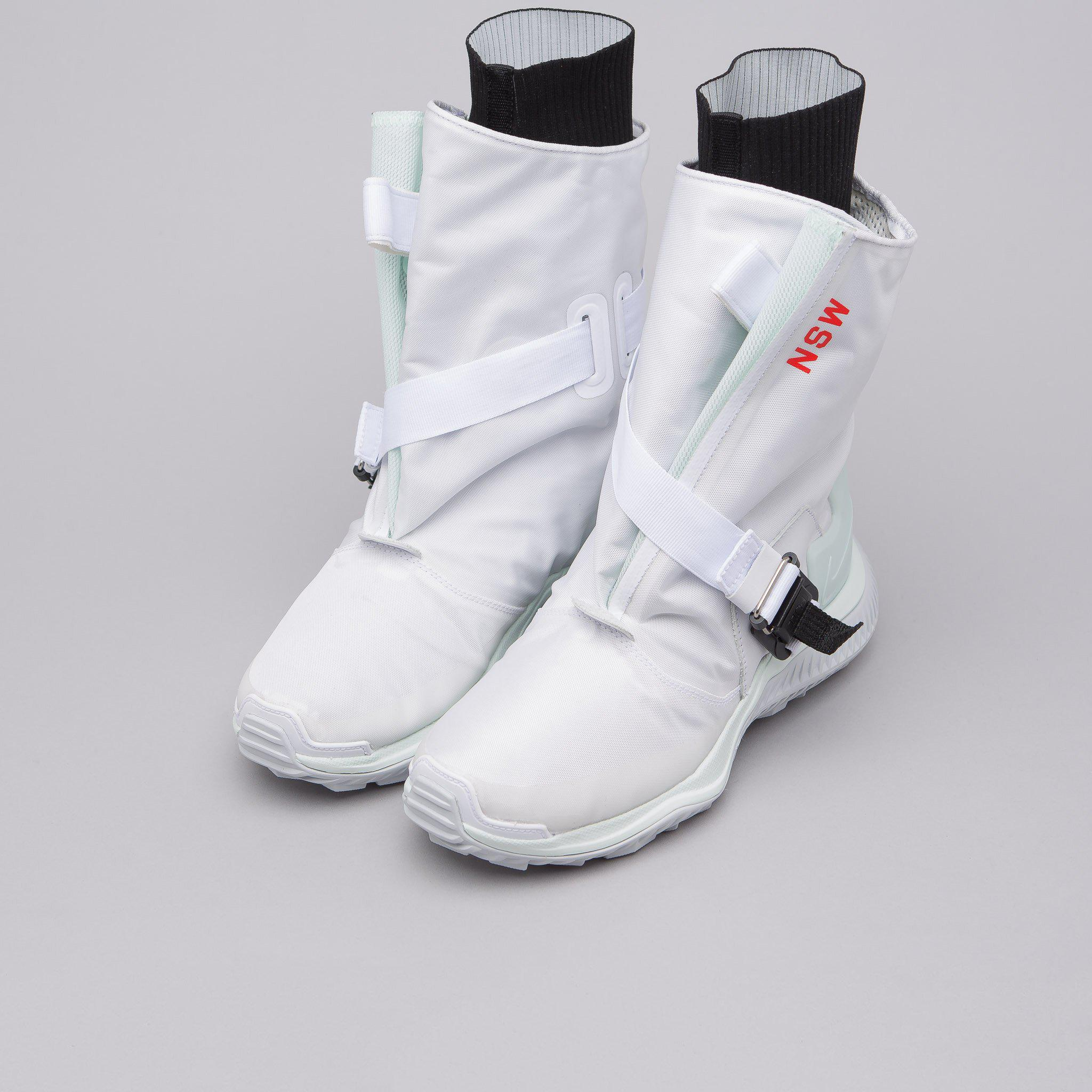 brand new a7c34 d1052 Lyst - Nike Womens Acg Gaiter Boot In White in White for Men