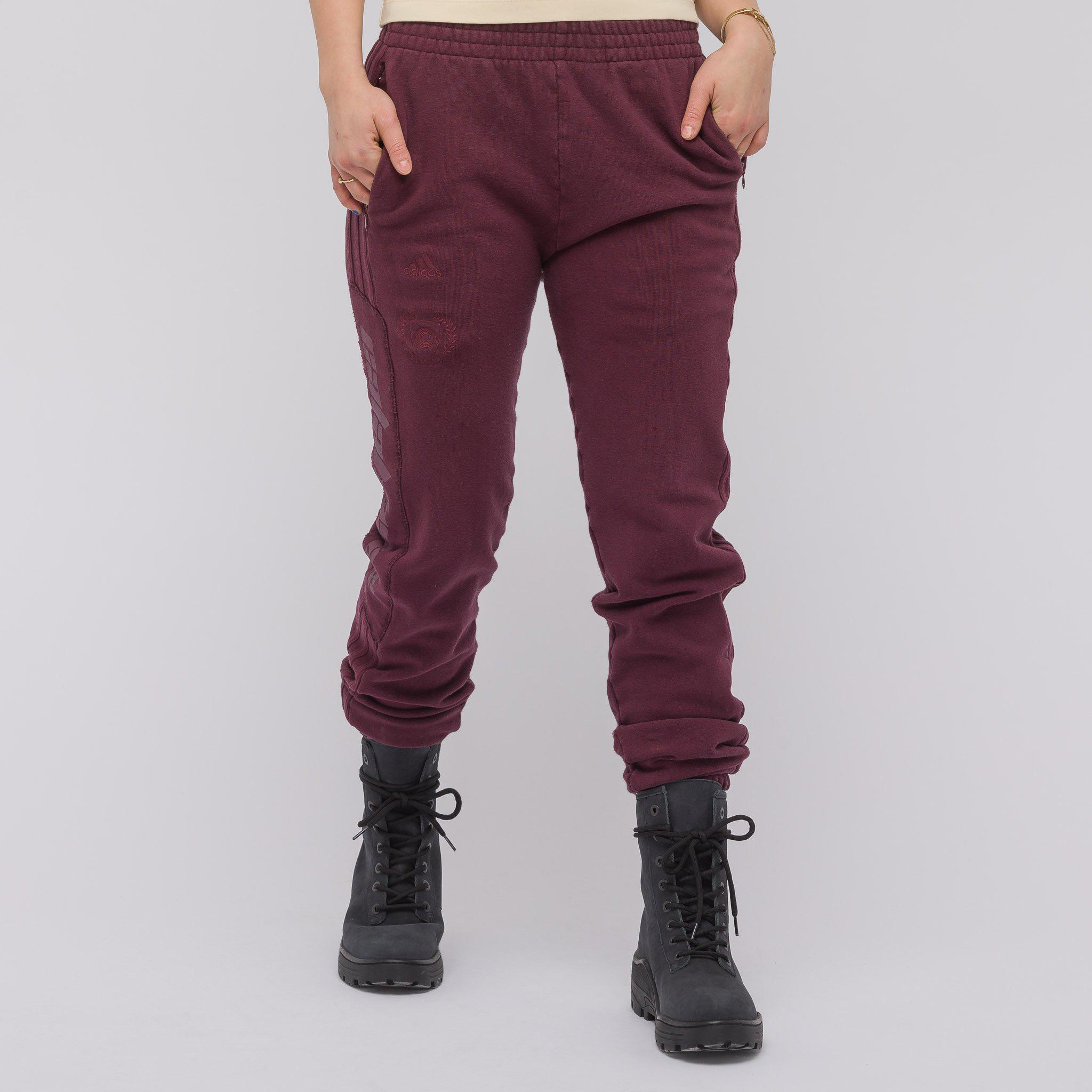 92e31277 Yeezy Women's Calabasas Sweatpants In Oxblood in Purple for Men - Lyst