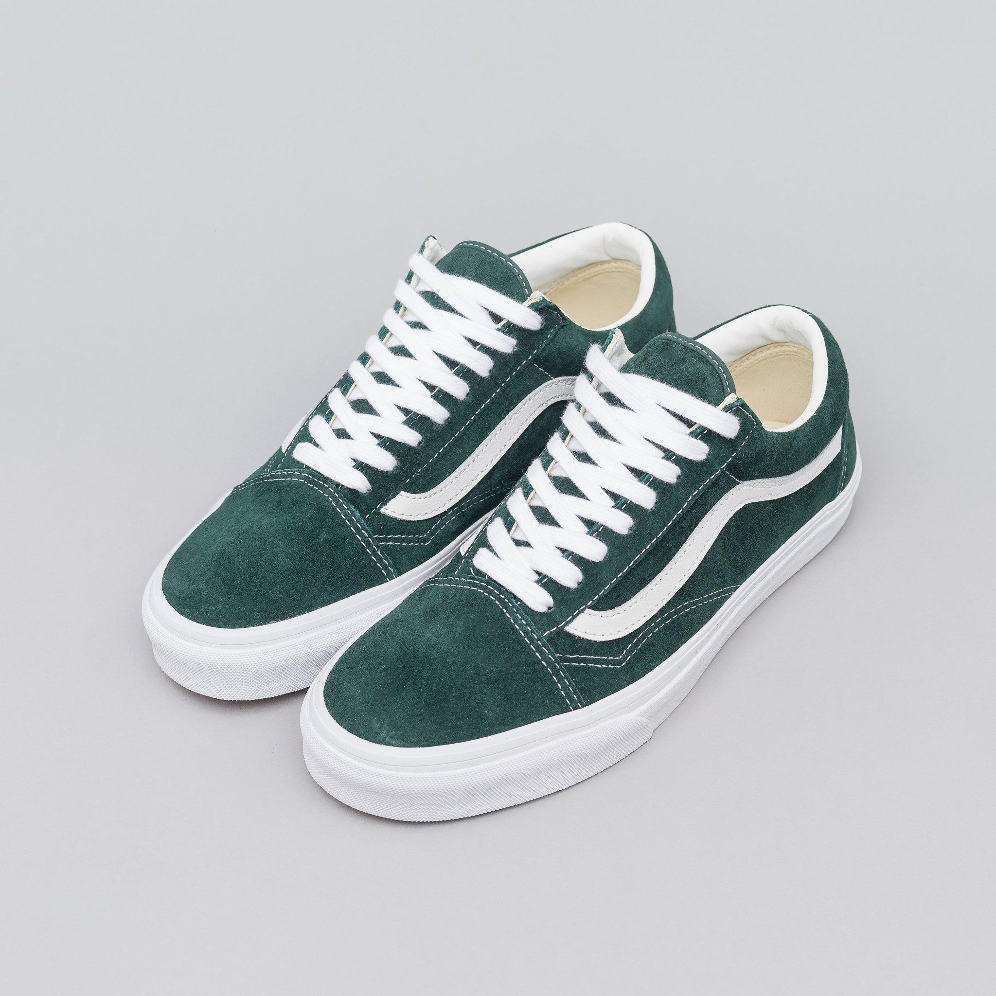 Lyst - Vans Old Skool Pig Suede In Darkest Spruce for Men 07b578e5a