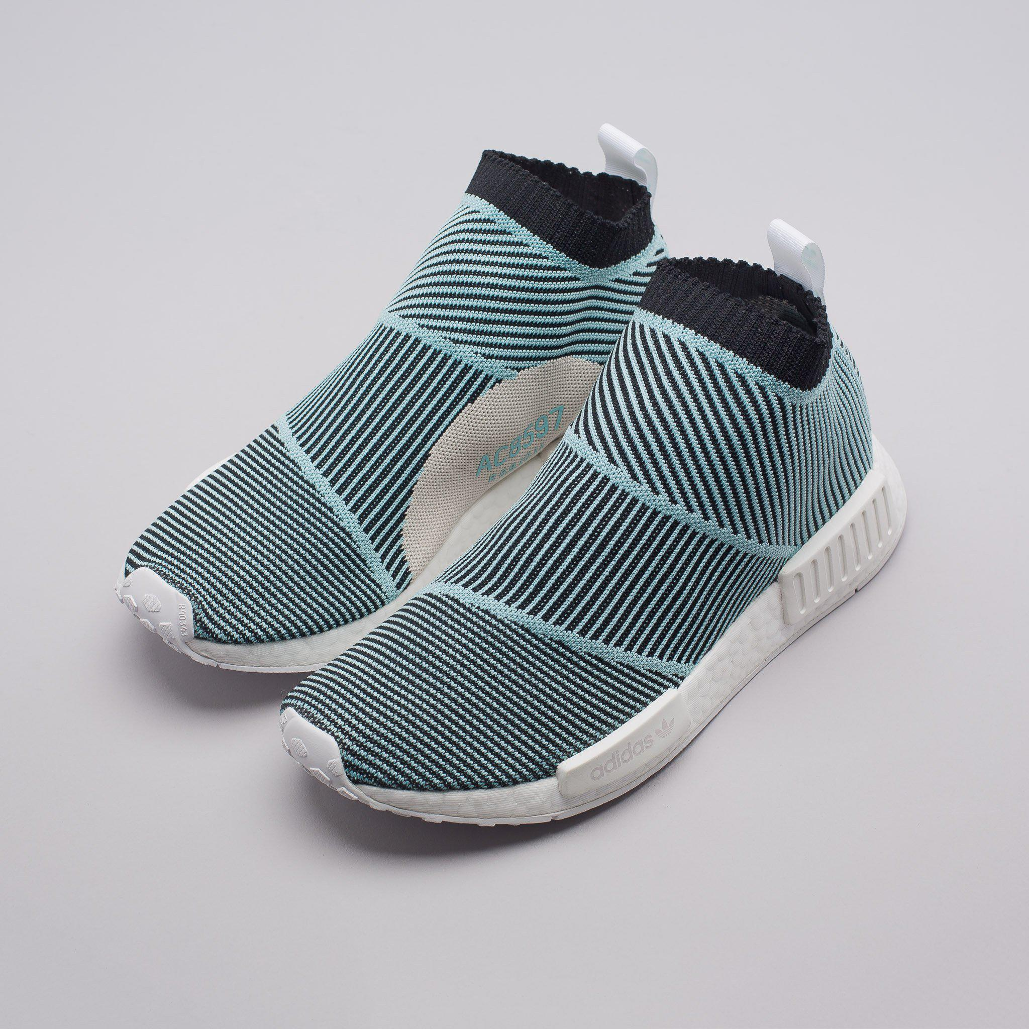 7165a87ab Lyst - adidas Nmd Cs1 Parley Primeknit In Core Black blue in Blue ...